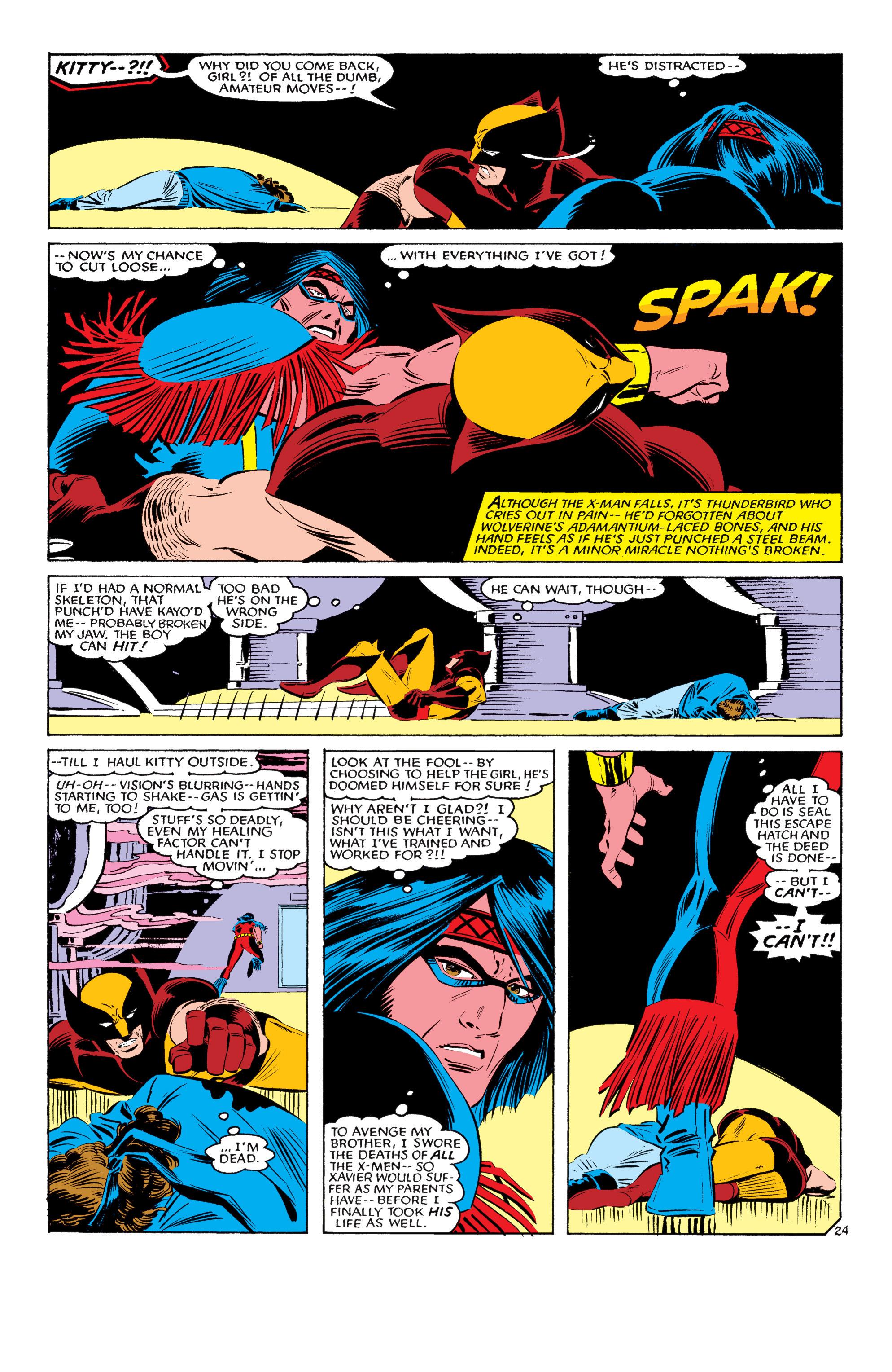 Read online Uncanny X-Men (1963) comic -  Issue #193 - 25