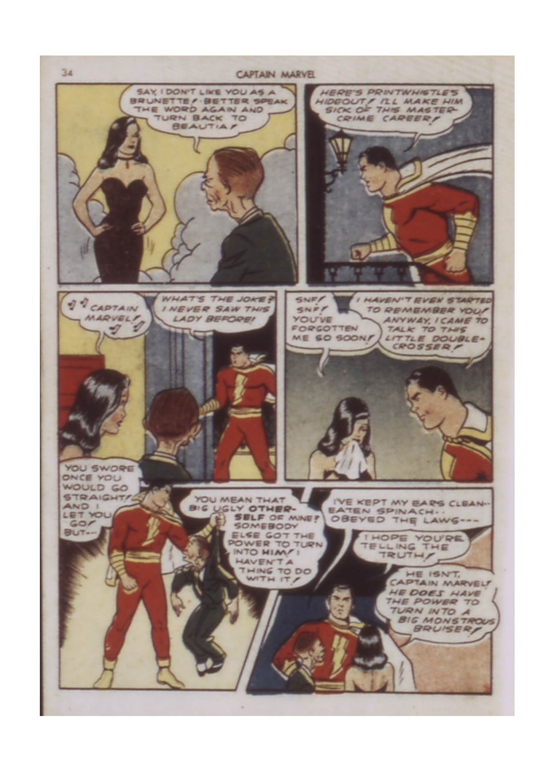 Captain Marvel Adventures issue 9 - Page 34