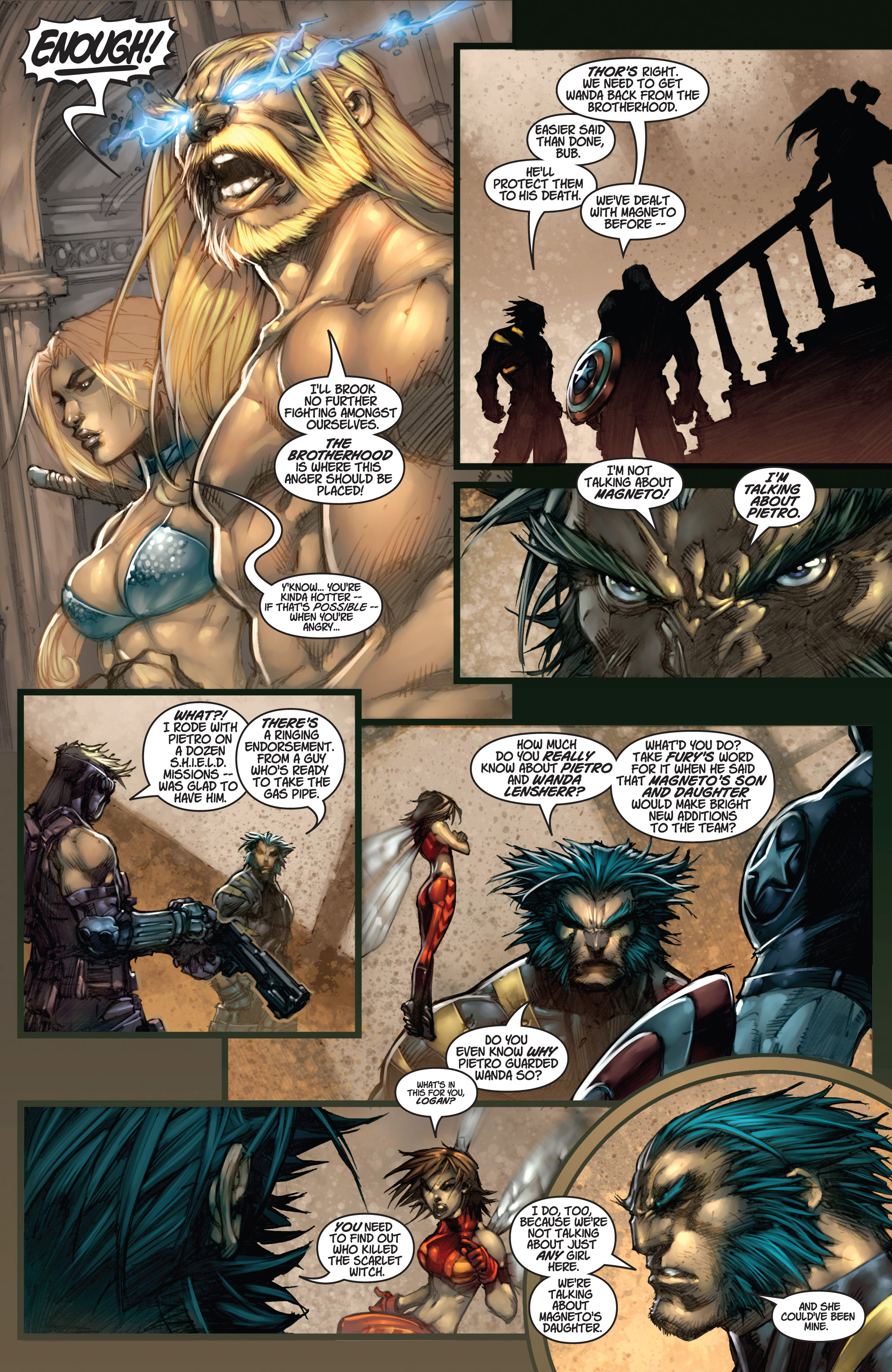 Read online Ultimates 3 comic -  Issue #3 - 6