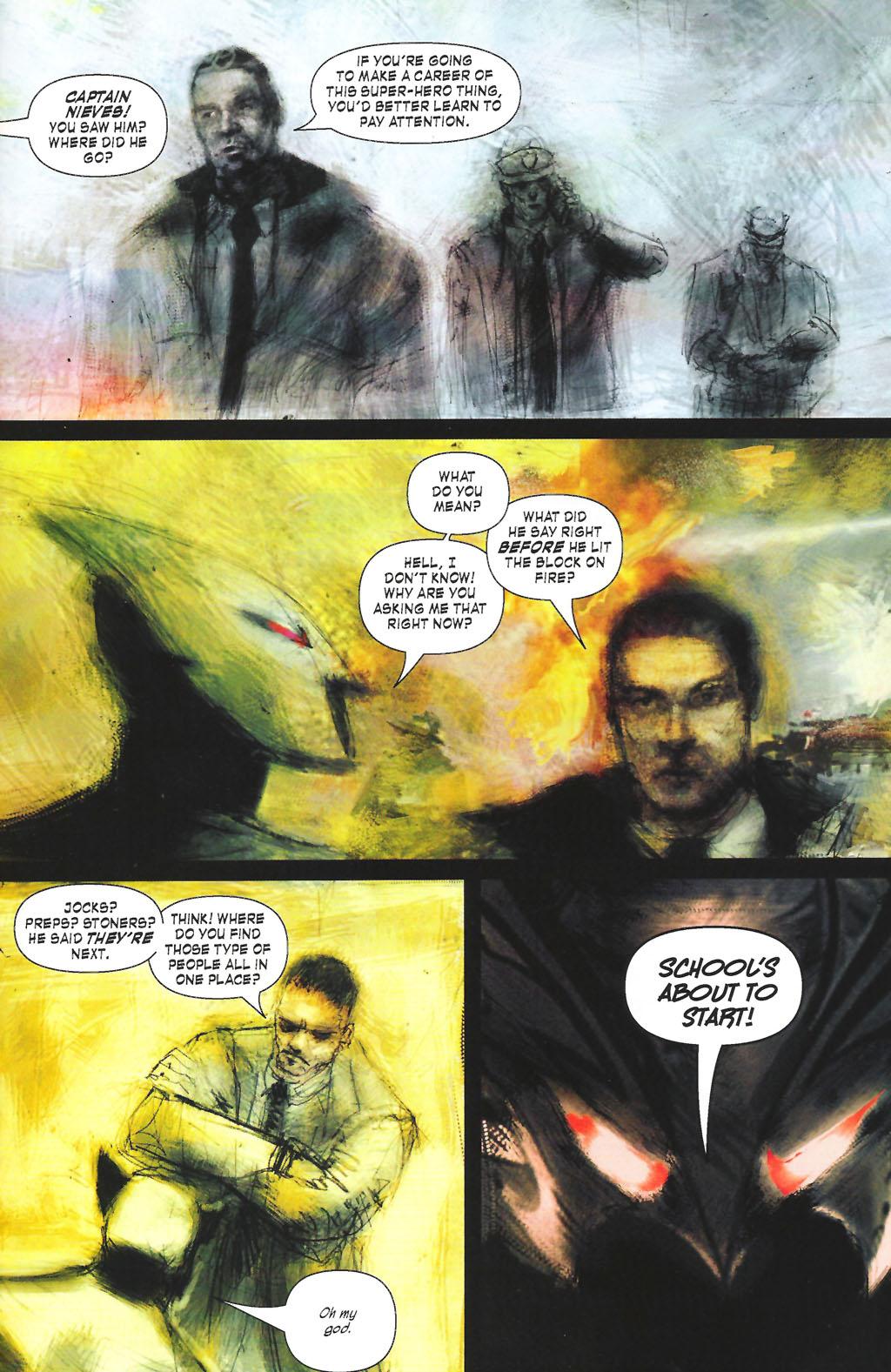 Read online ShadowHawk (2005) comic -  Issue #7 - 21