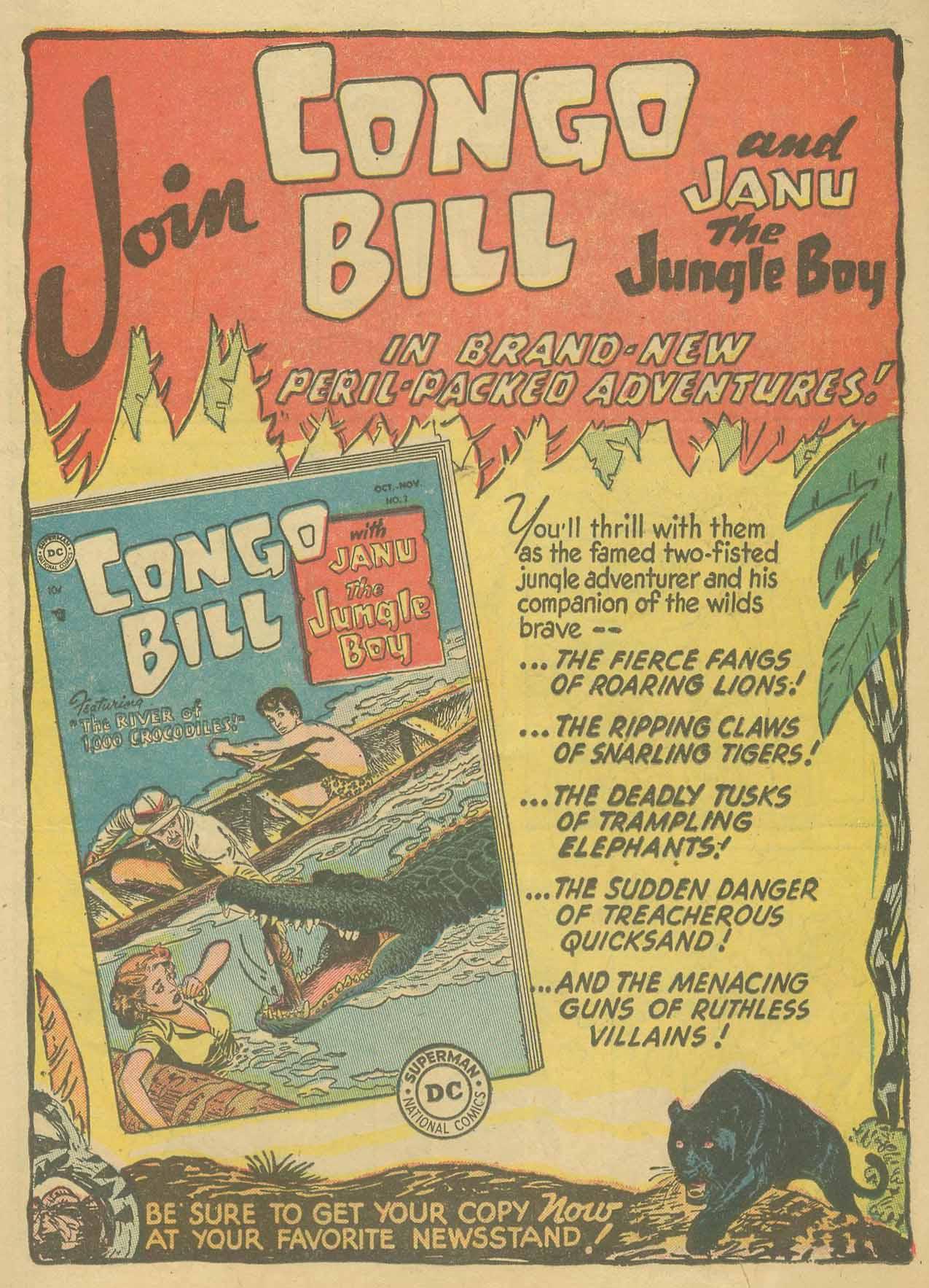 Read online Adventure Comics (1938) comic -  Issue #205 - 24