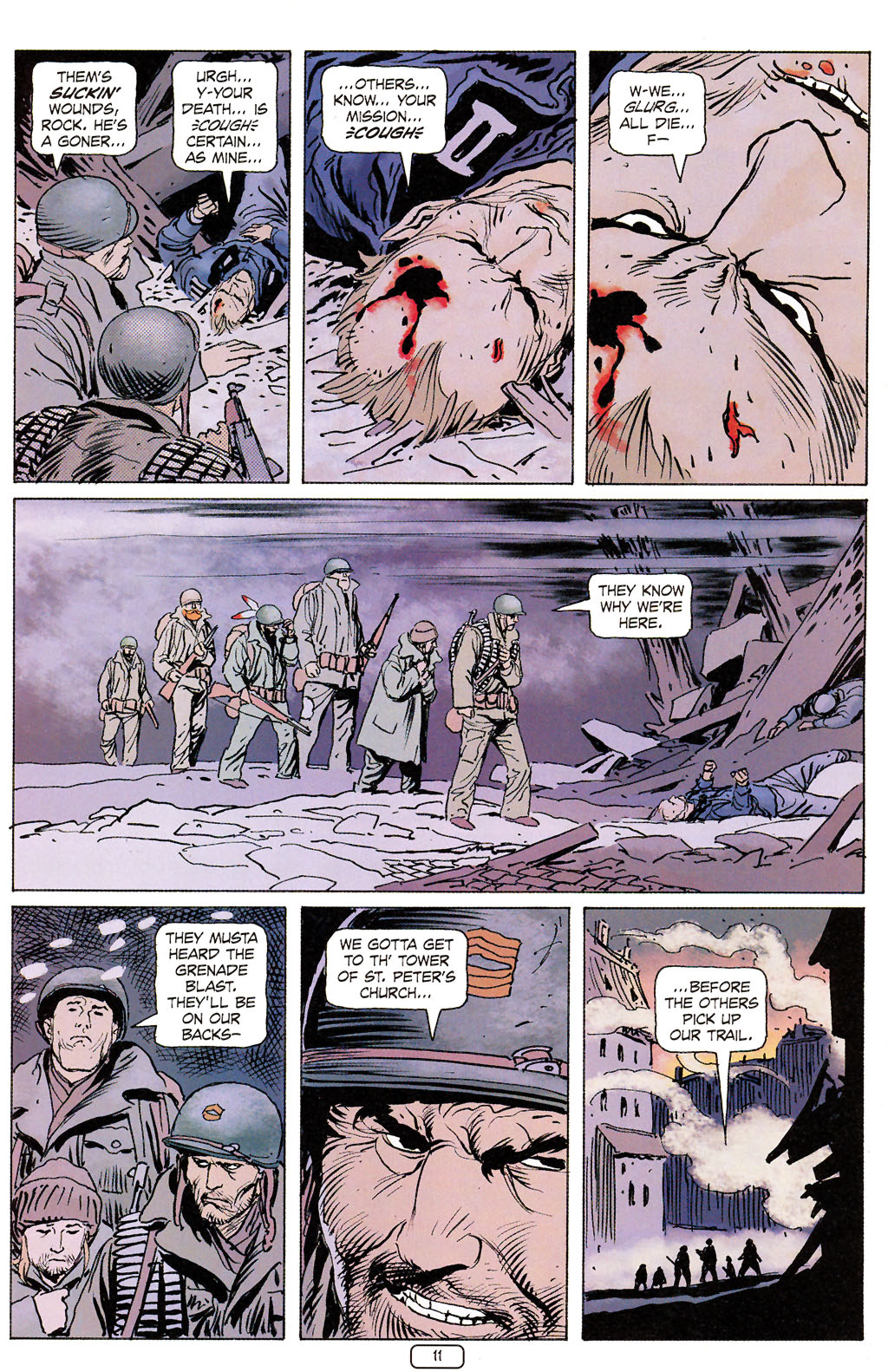 Read online Sgt. Rock: The Prophecy comic -  Issue #6 - 11