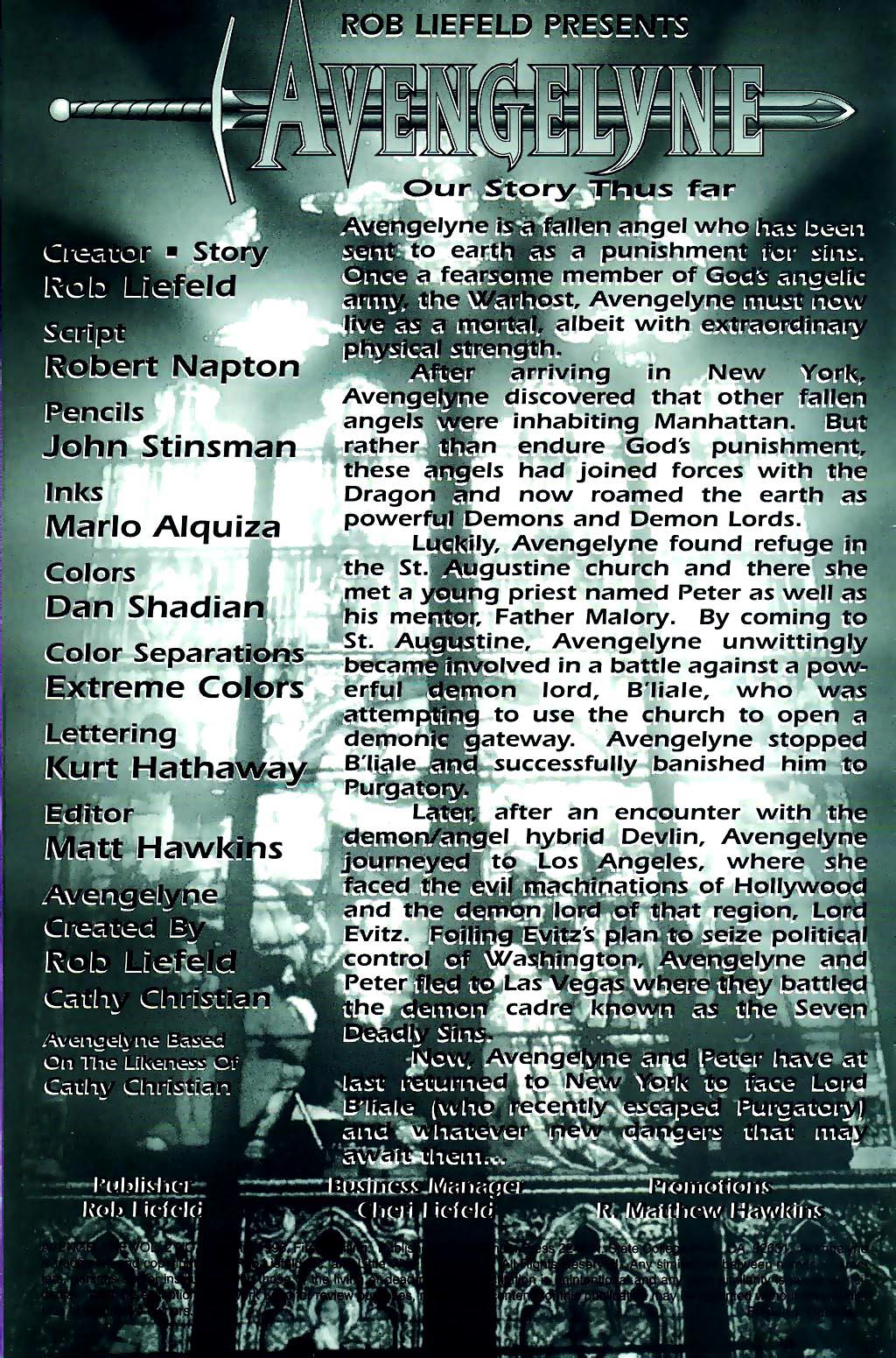 Read online Avengelyne (1996) comic -  Issue #1 - 2
