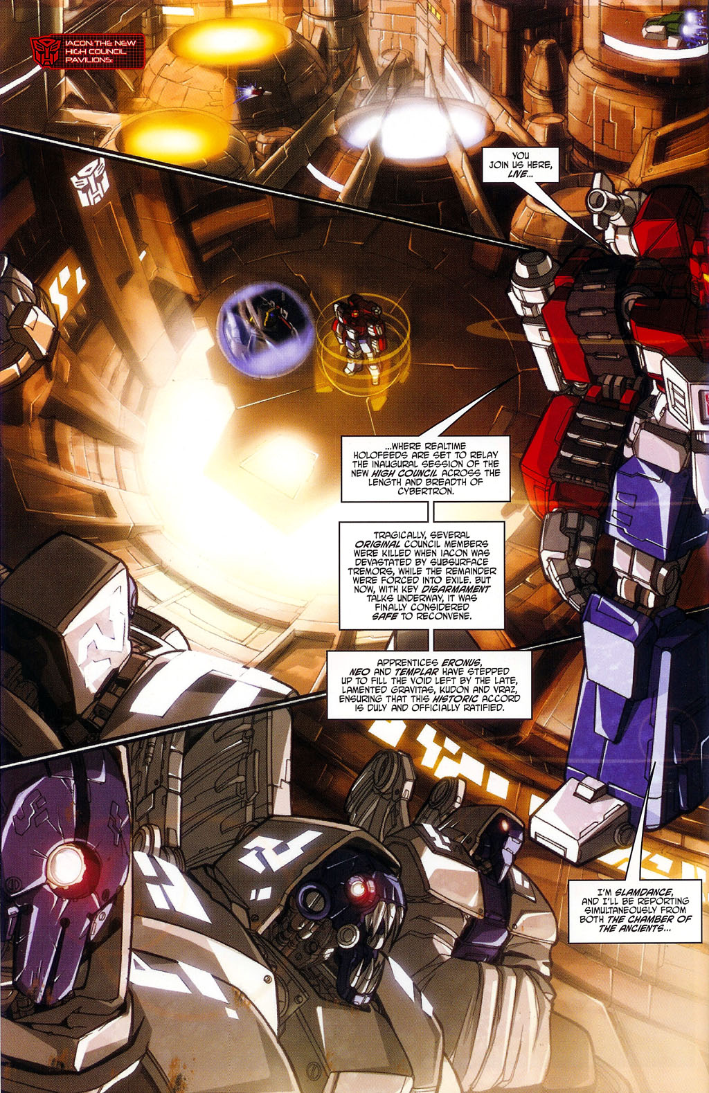 """Read online Transformers War Within: """"The Age of Wrath"""" comic -  Issue #1 - 11"""