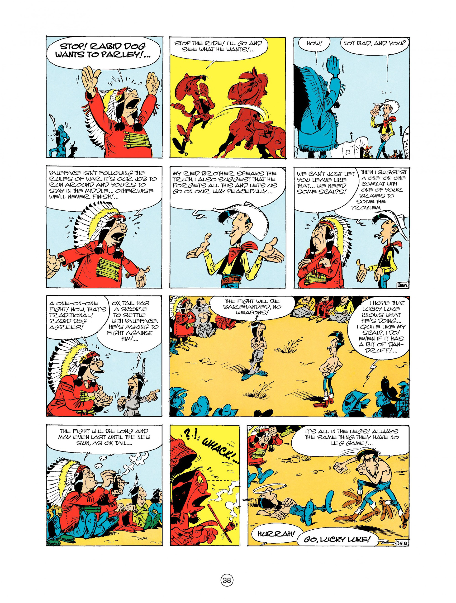 Read online A Lucky Luke Adventure comic -  Issue #9 - 38