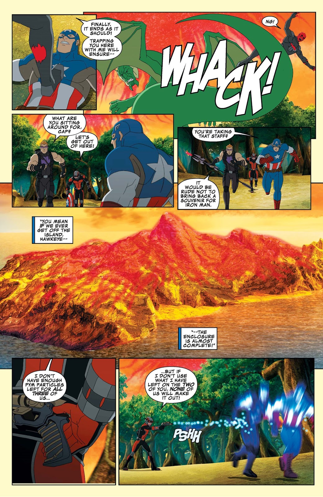 Read online Marvel Universe Avengers Assemble Season 2 comic -  Issue #9 - 25