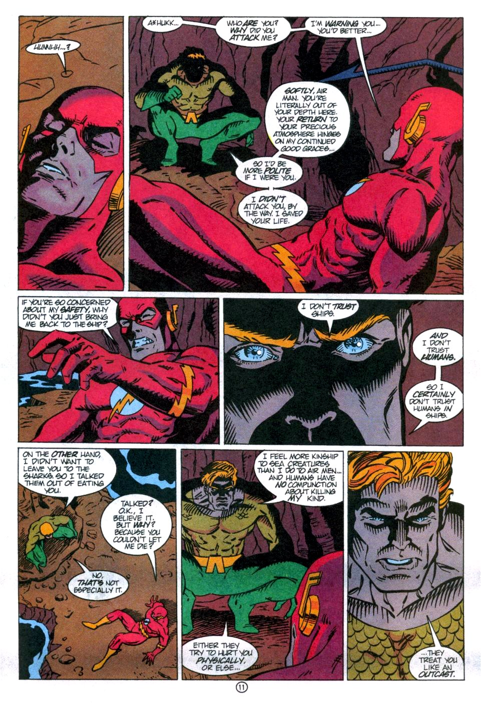 Read online Aquaman: Time and Tide comic -  Issue #1 - 12