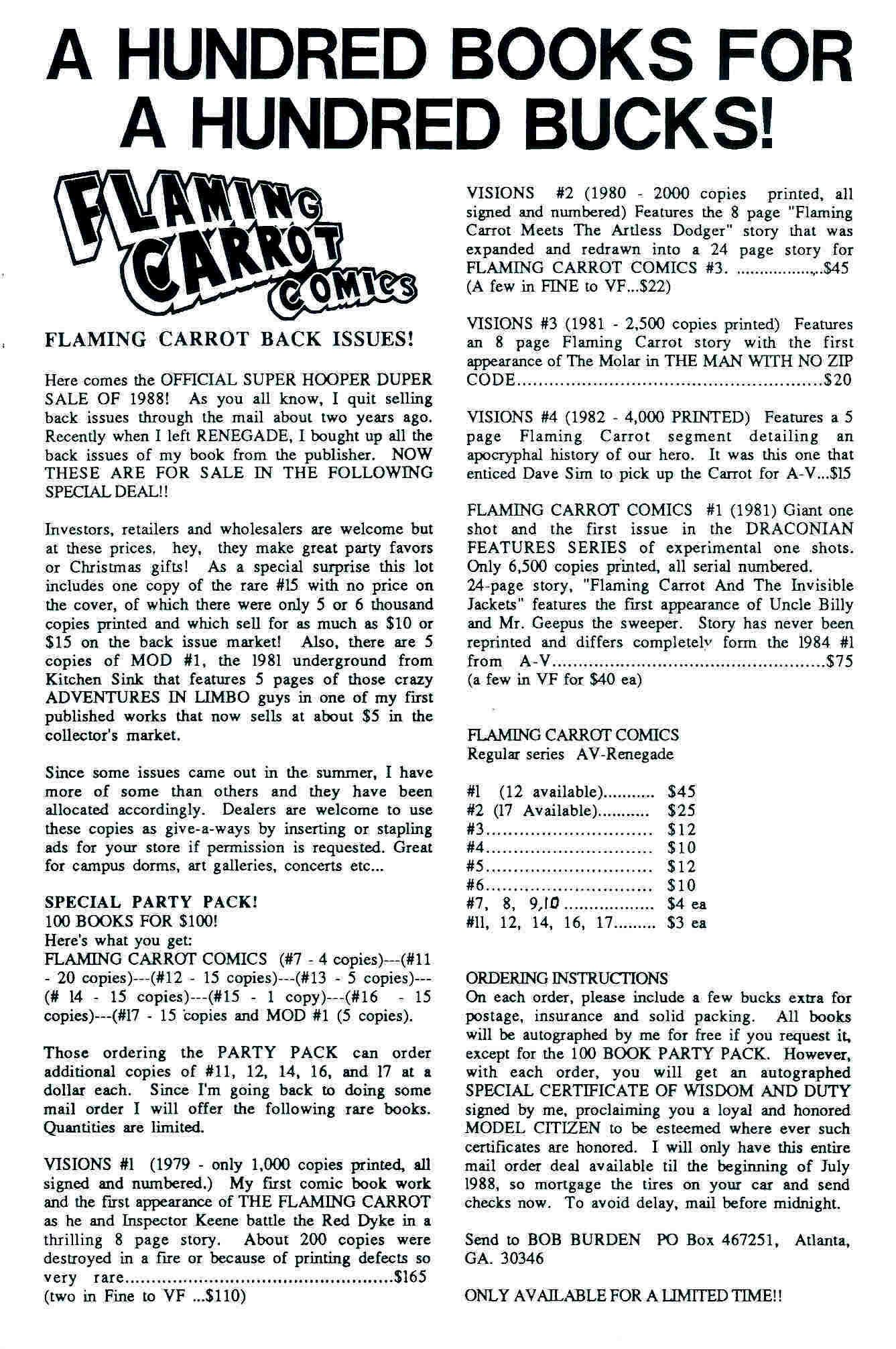 Read online Flaming Carrot Comics (1988) comic -  Issue #18 - 35
