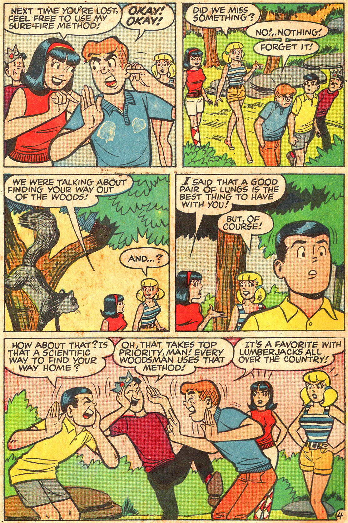 Read online Archie (1960) comic -  Issue #176 - 6