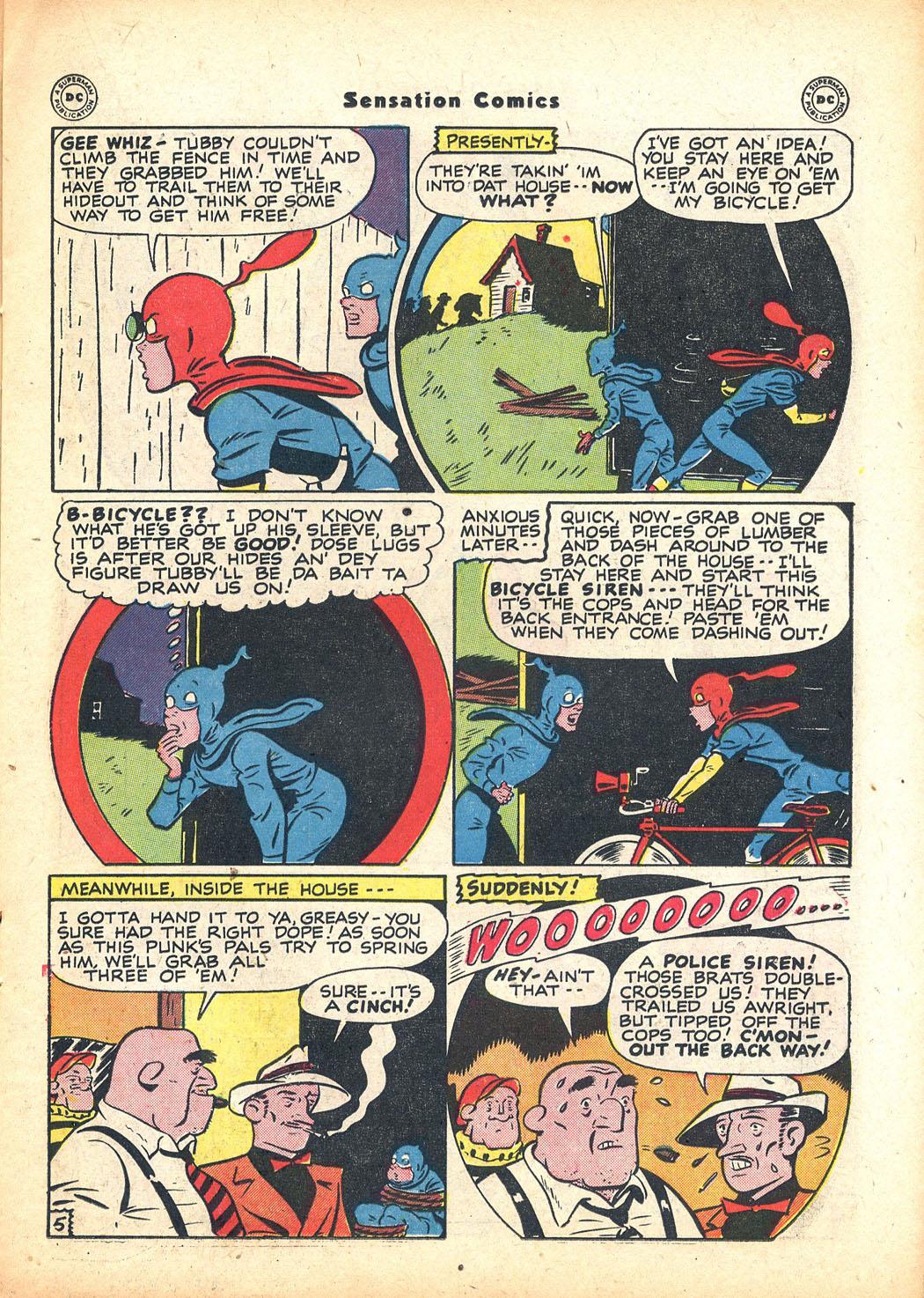 Read online Sensation (Mystery) Comics comic -  Issue #63 - 21