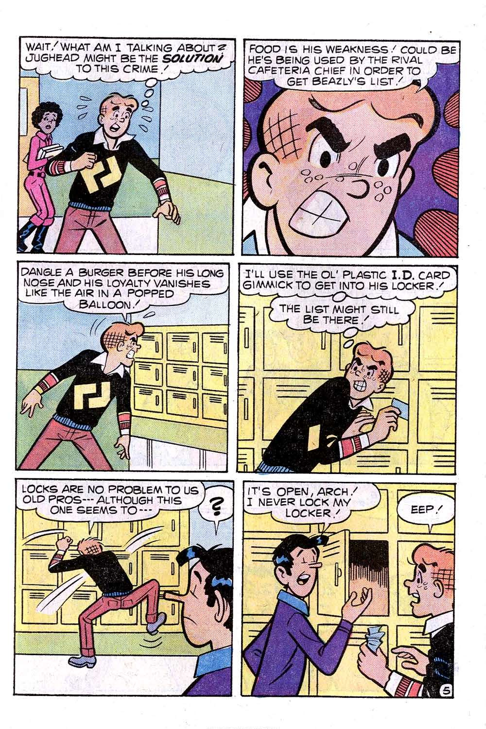Read online Archie (1960) comic -  Issue #263 - 7