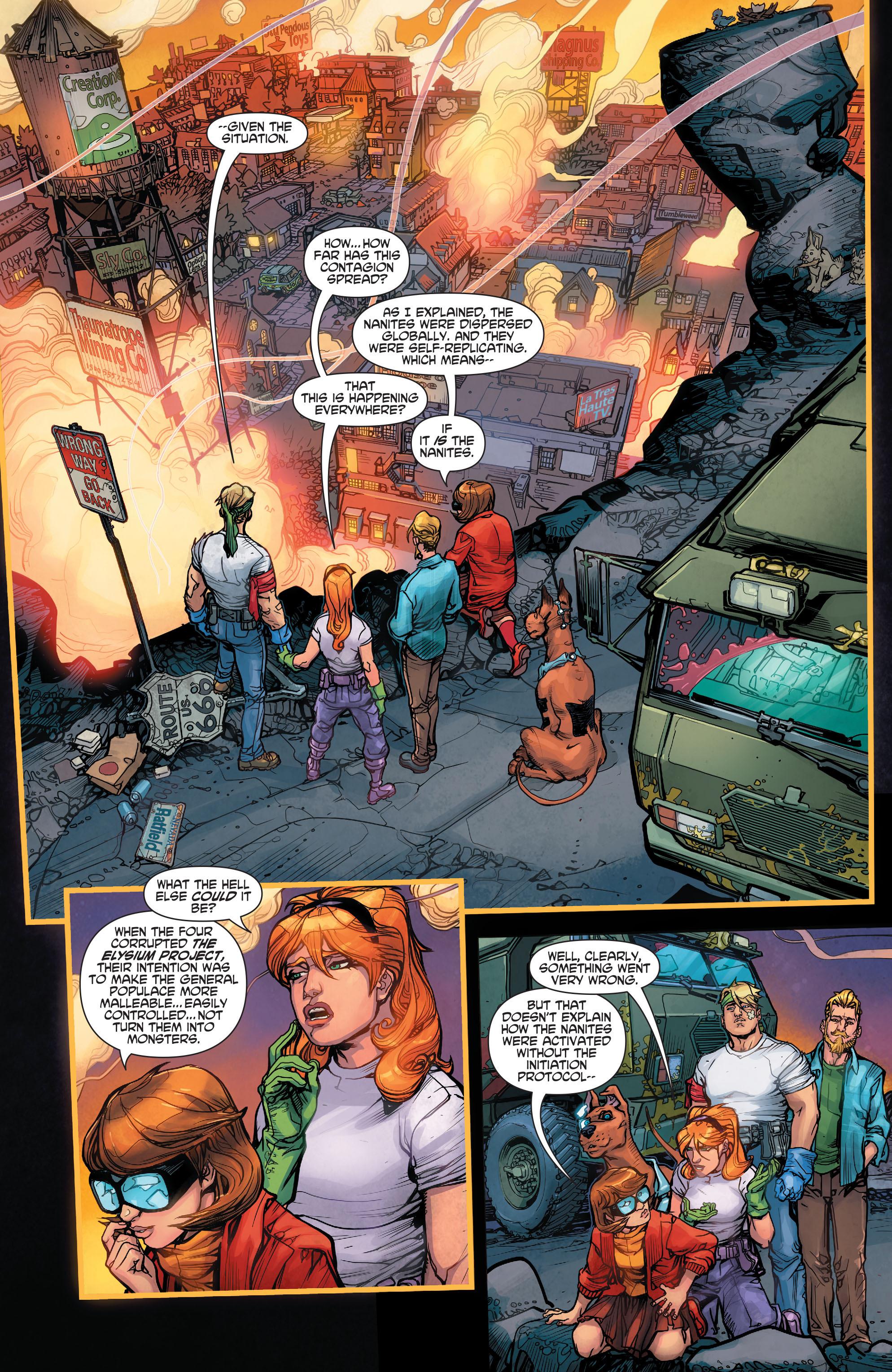 Read online Scooby Apocalypse comic -  Issue #3 - 13