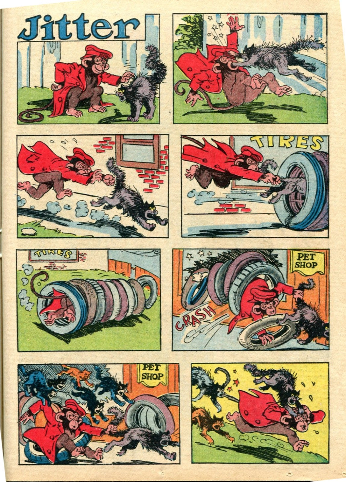Read online Famous Funnies comic -  Issue #112 - 41