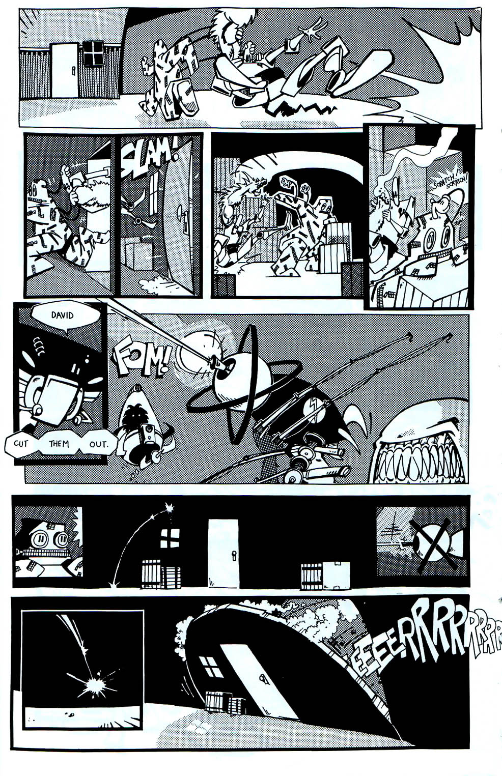 Read online Scud: The Disposable Assassin (1994) comic -  Issue #7 - 17