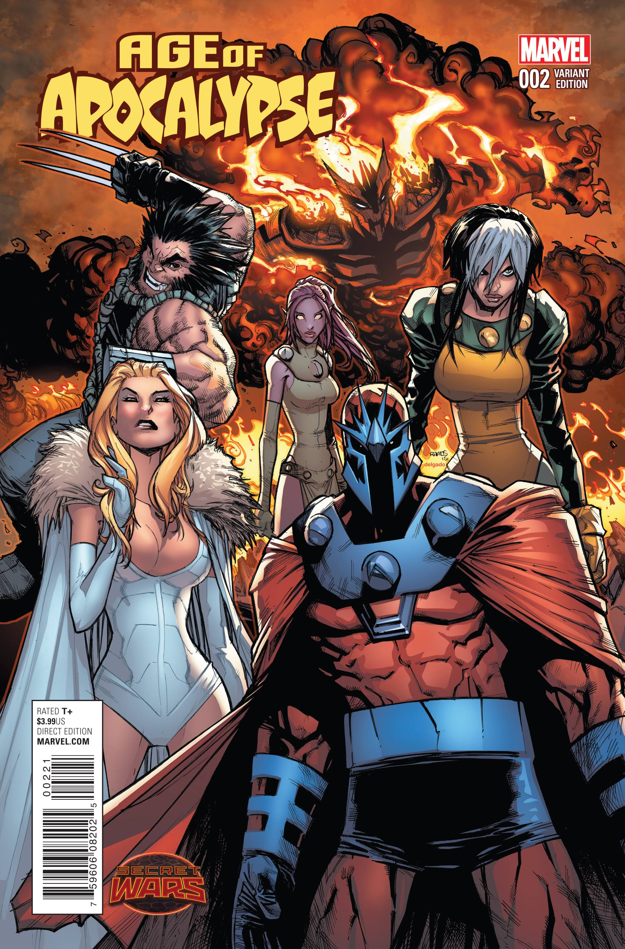 Read online Age of Apocalypse (2015) comic -  Issue #2 - 2