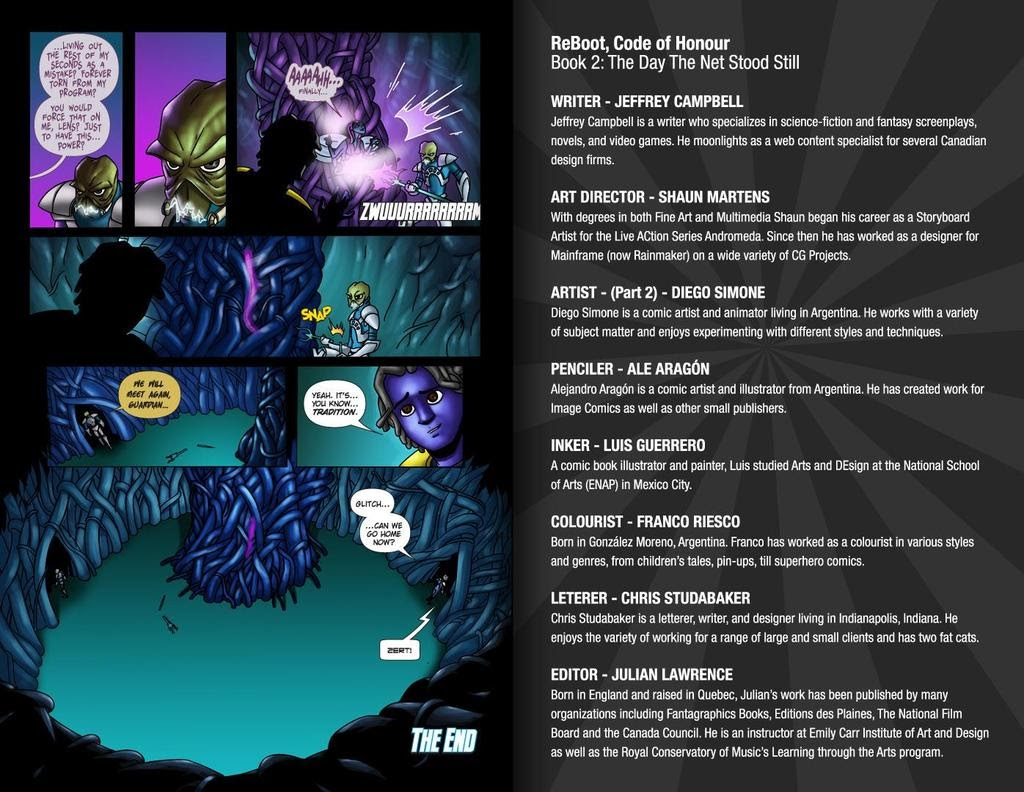 Read online ReBoot: Paradigms Lost comic -  Issue # Full - 35