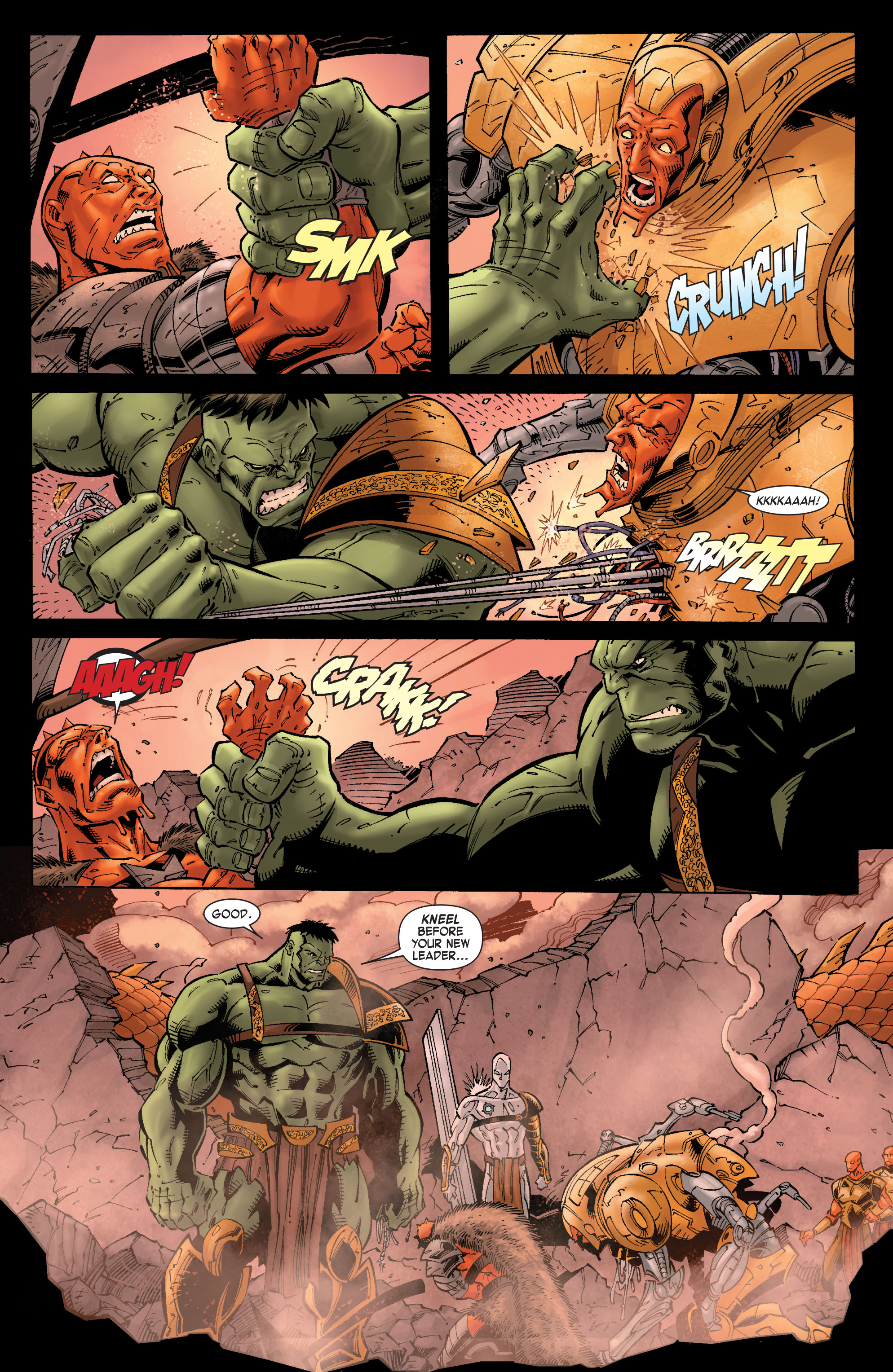 Read online Skaar: Son of Hulk comic -  Issue #9 - 12