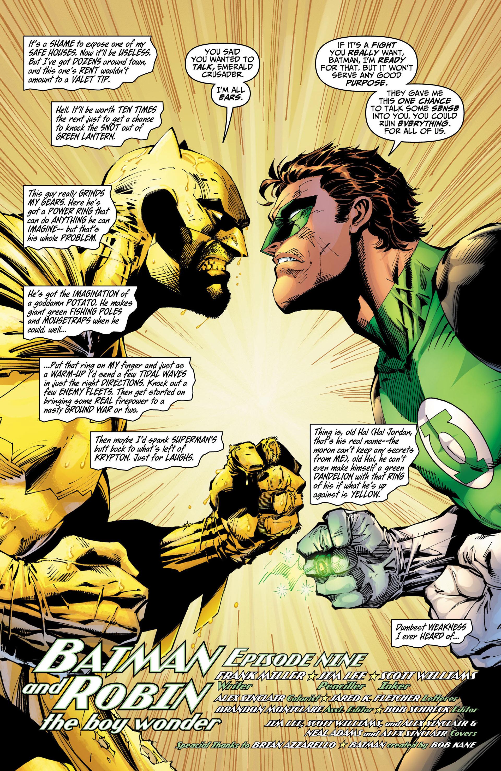 Read online All Star Batman & Robin, The Boy Wonder comic -  Issue #9 - 3