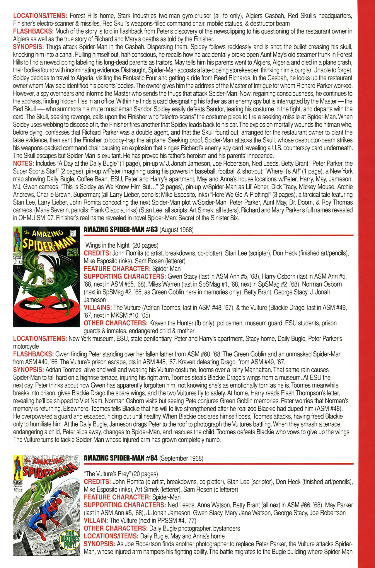 Read online Official Index to the Marvel Universe comic -  Issue #2 - 7