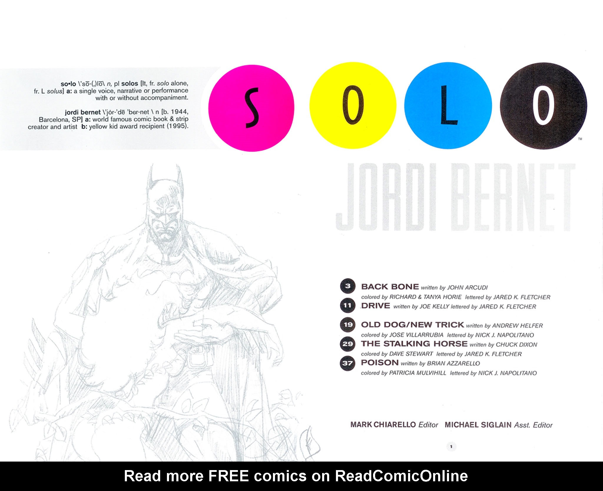 Read online Solo (2004) comic -  Issue #6 - 2
