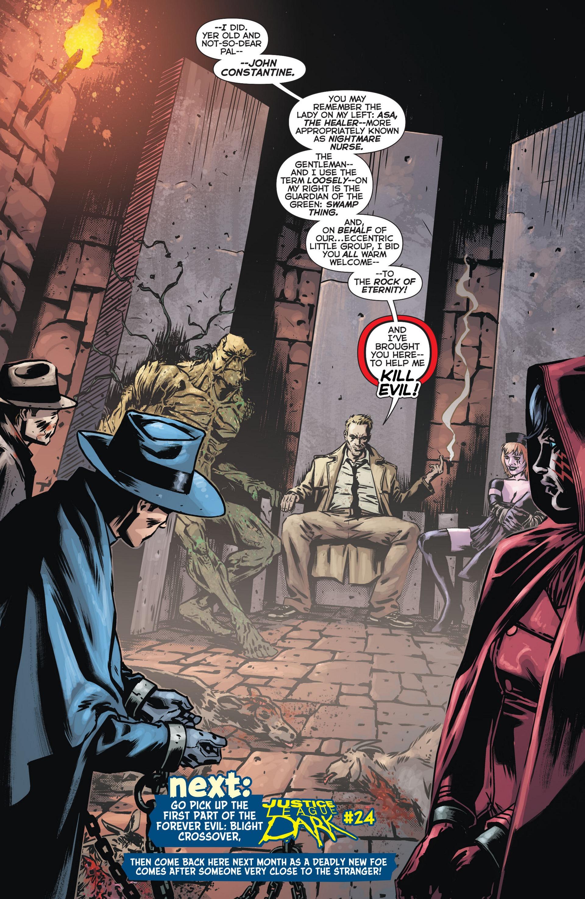 Read online Trinity of Sin: The Phantom Stranger comic -  Issue #13 - 20