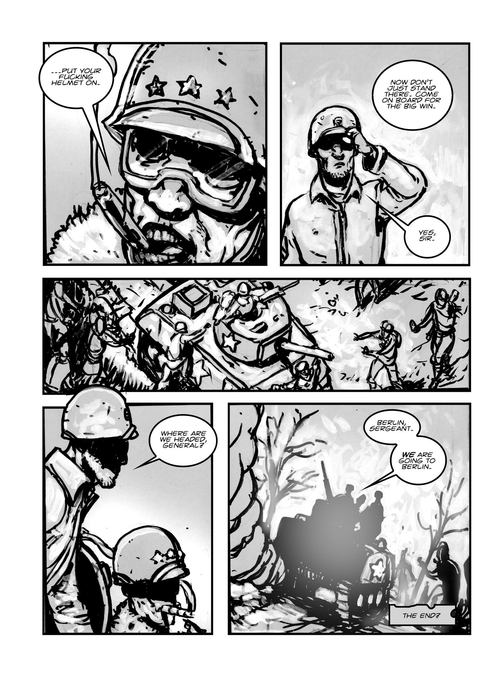Read online FUBAR comic -  Issue #1 - 150