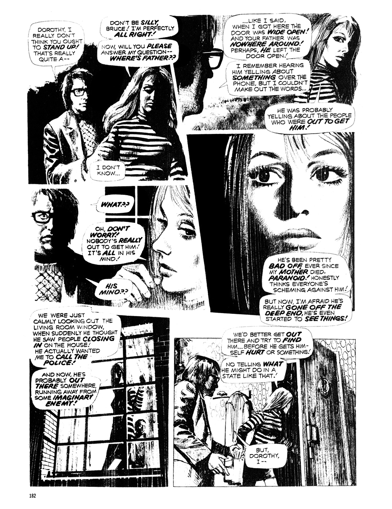 Read online Eerie Archives comic -  Issue # TPB 10 - 183