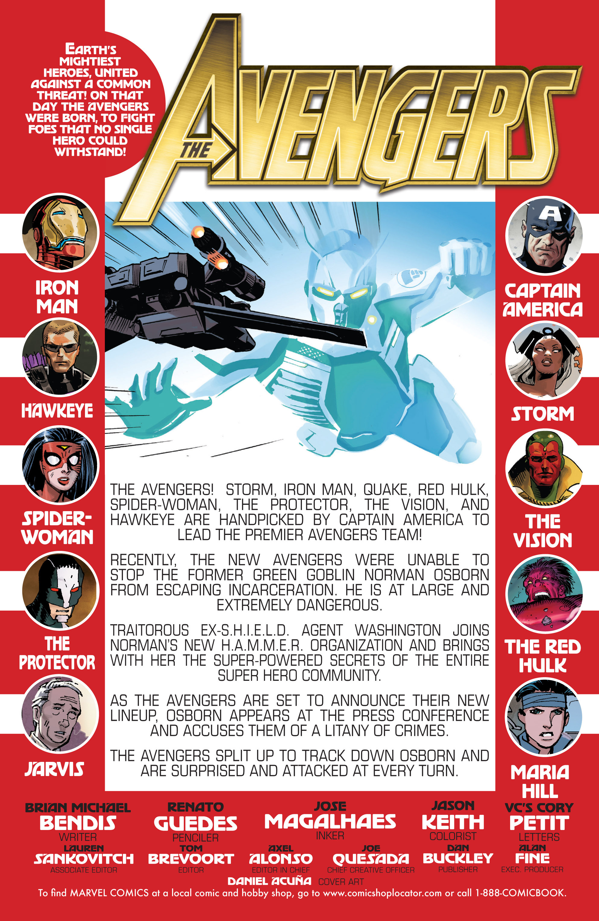 Read online Avengers (2010) comic -  Issue #21 - 2