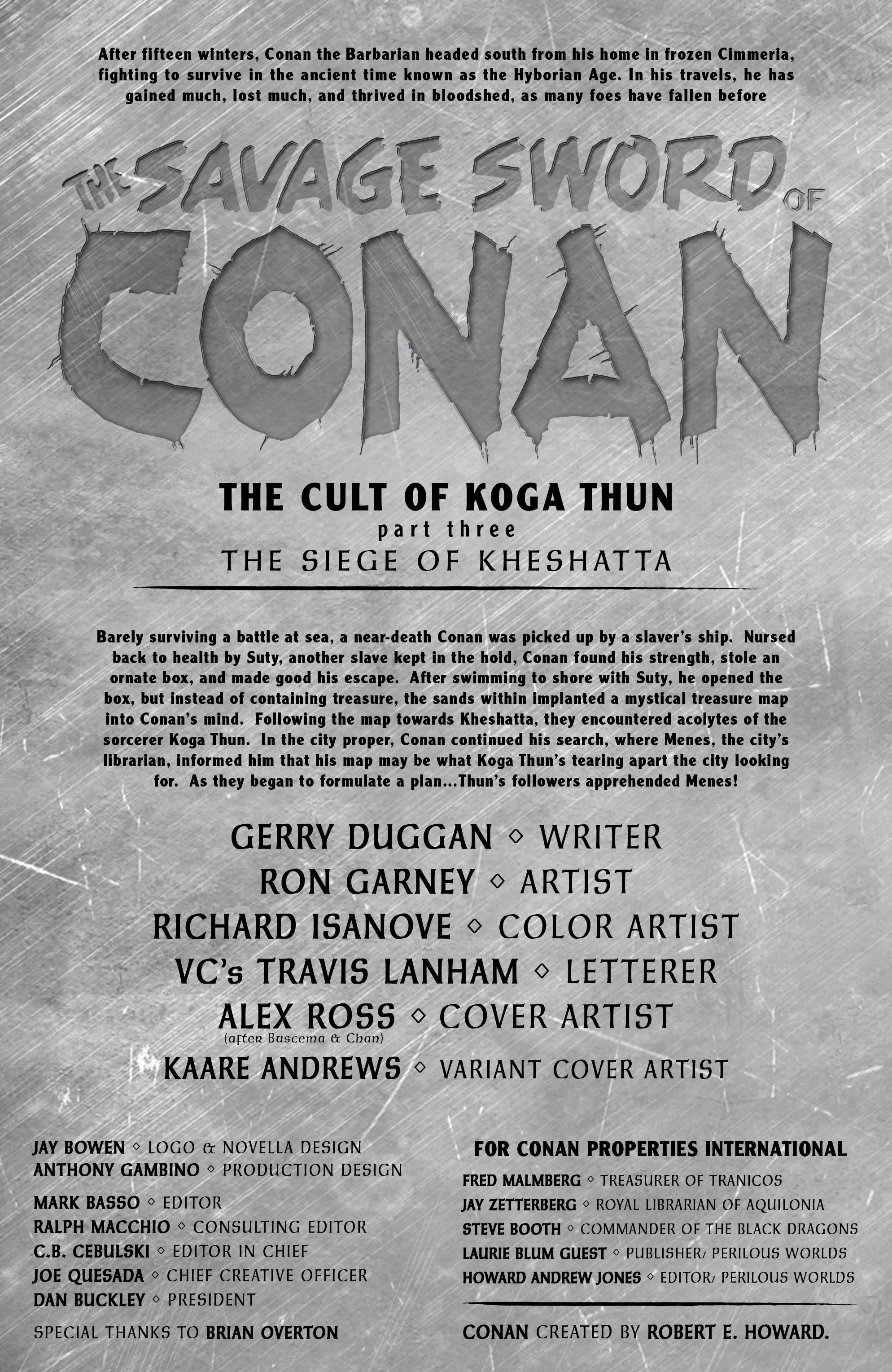 Read online Savage Sword of Conan comic -  Issue #3 - 3