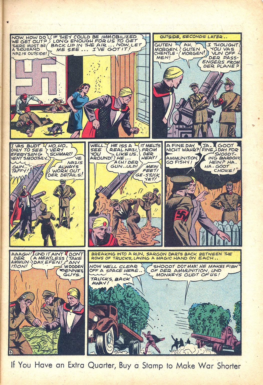 Read online Sensation (Mystery) Comics comic -  Issue #34 - 21