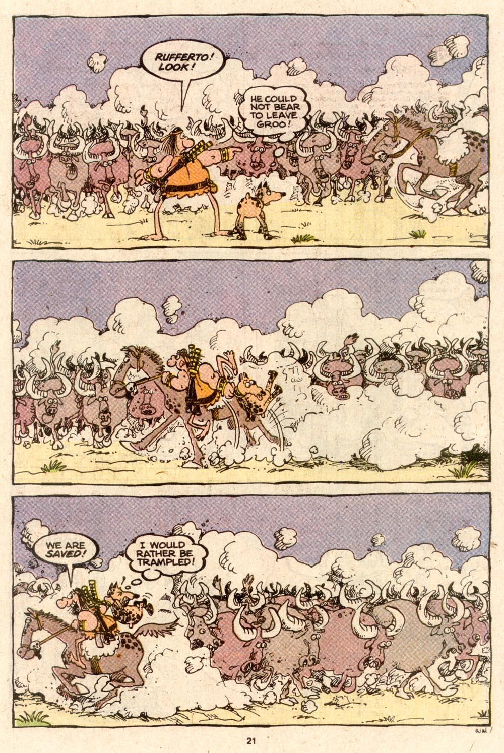 Read online Sergio Aragonés Groo the Wanderer comic -  Issue #62 - 23