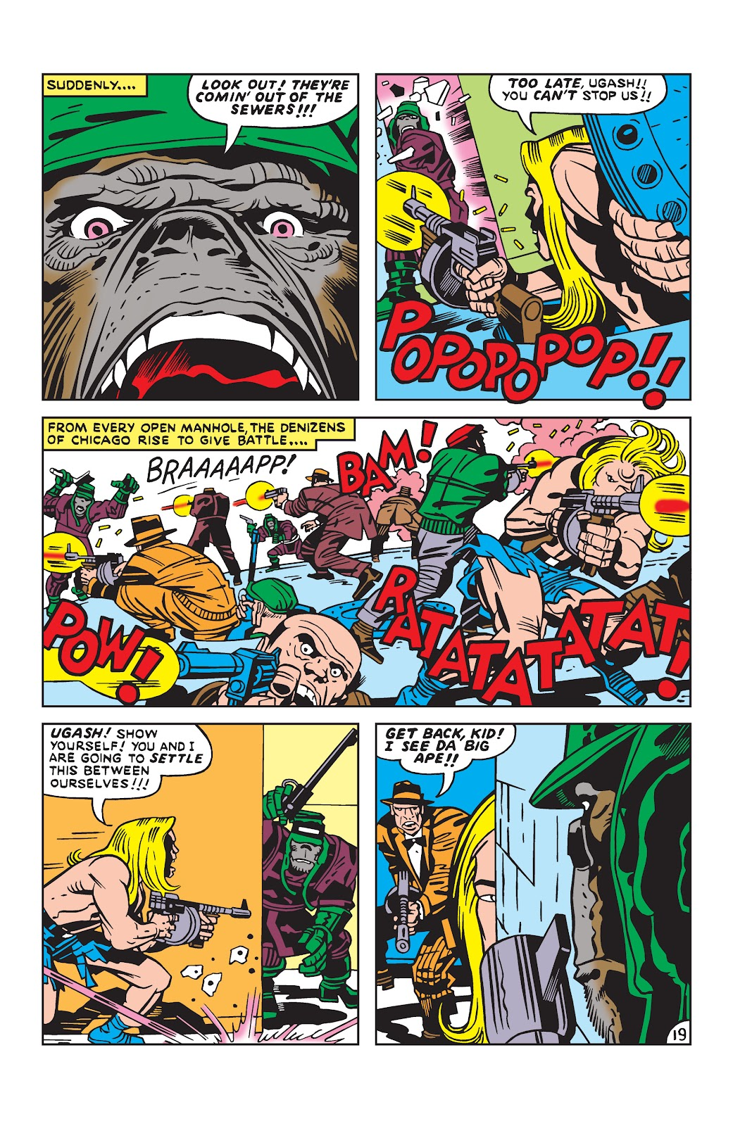 Kamandi, The Last Boy On Earth issue 19 - Page 19