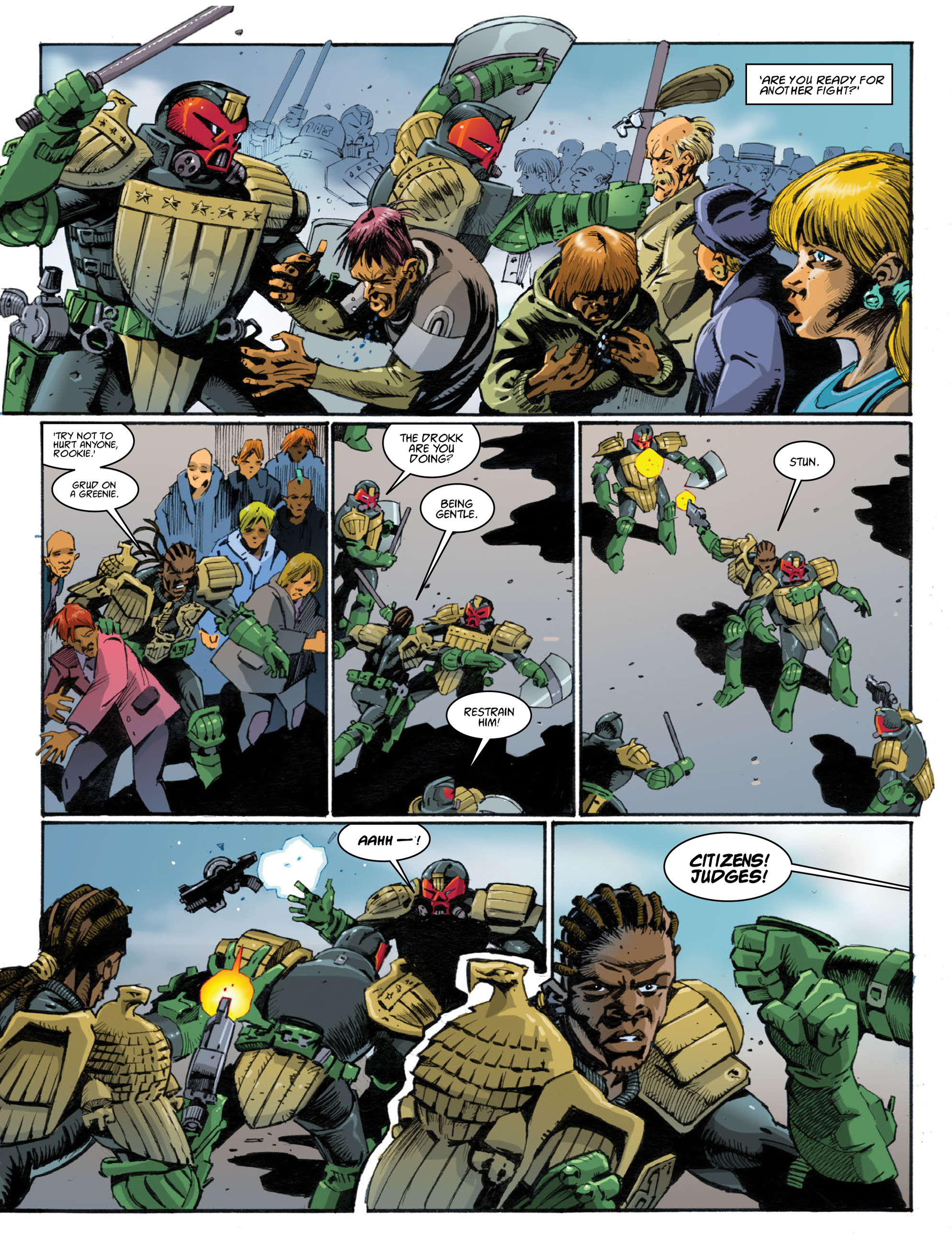 Read online 2000 AD comic -  Issue #1998 - 28
