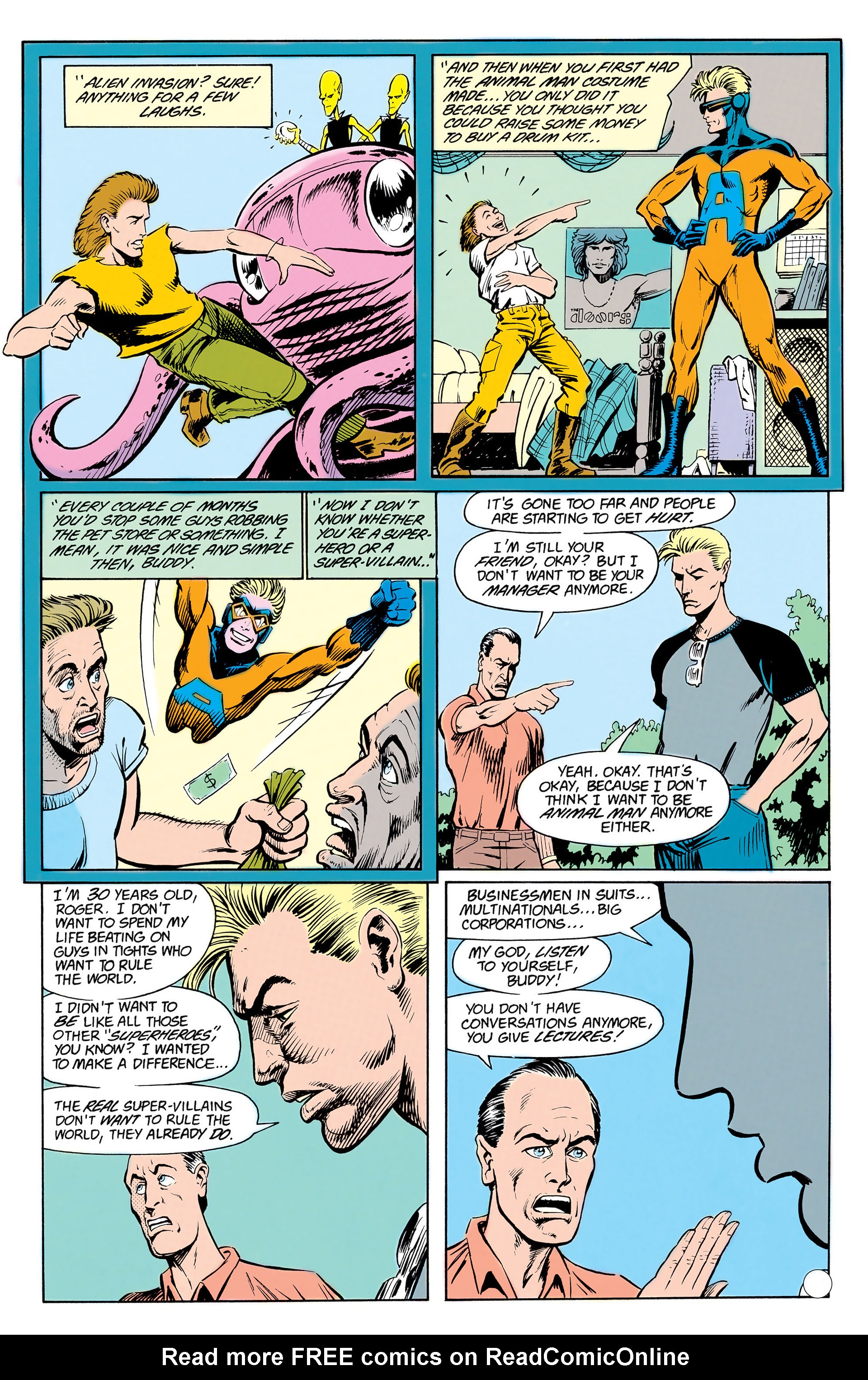 Read online Animal Man (1988) comic -  Issue #17 - 17