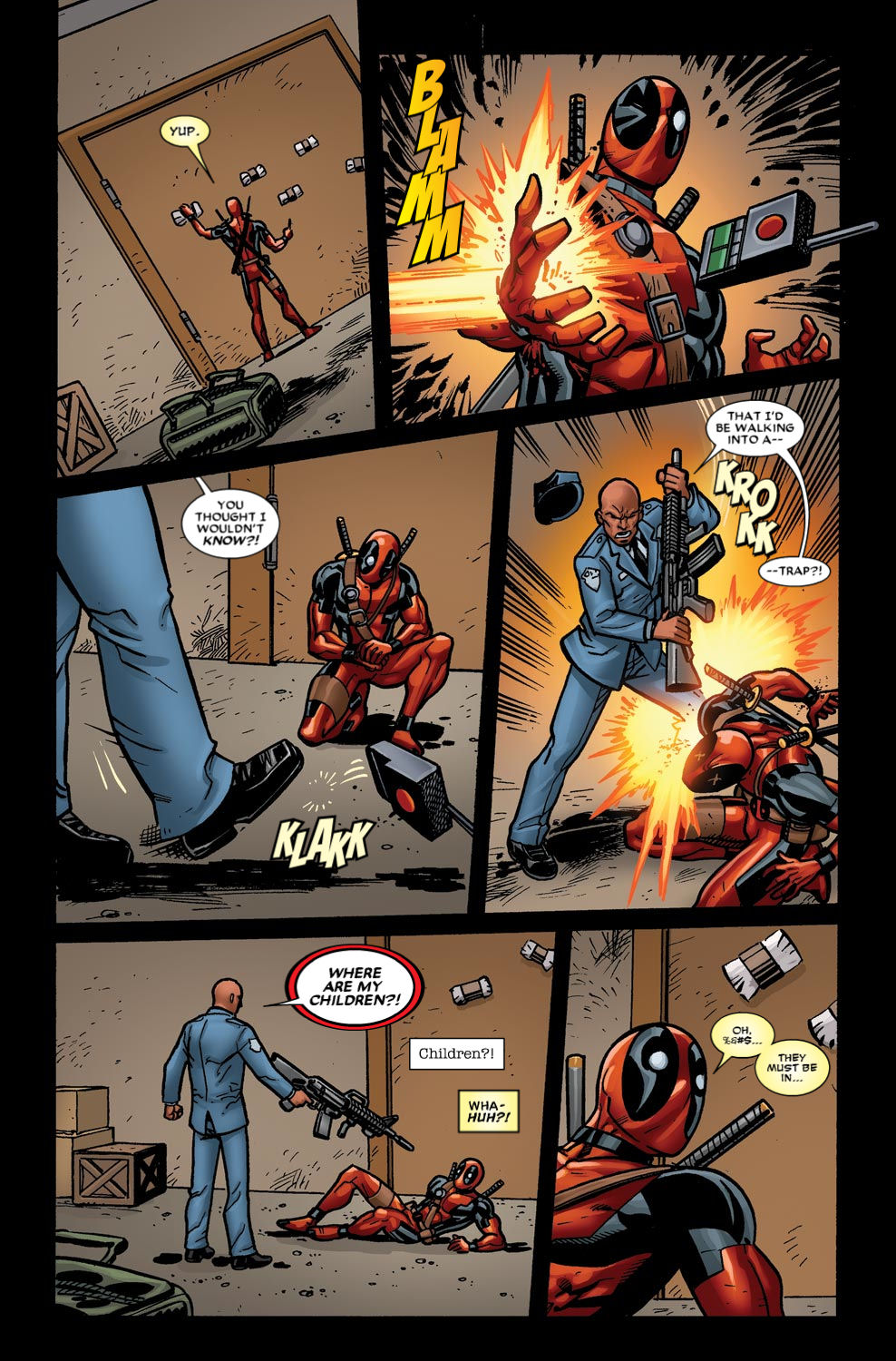 Read online Deadpool (2008) comic -  Issue #49 - 14
