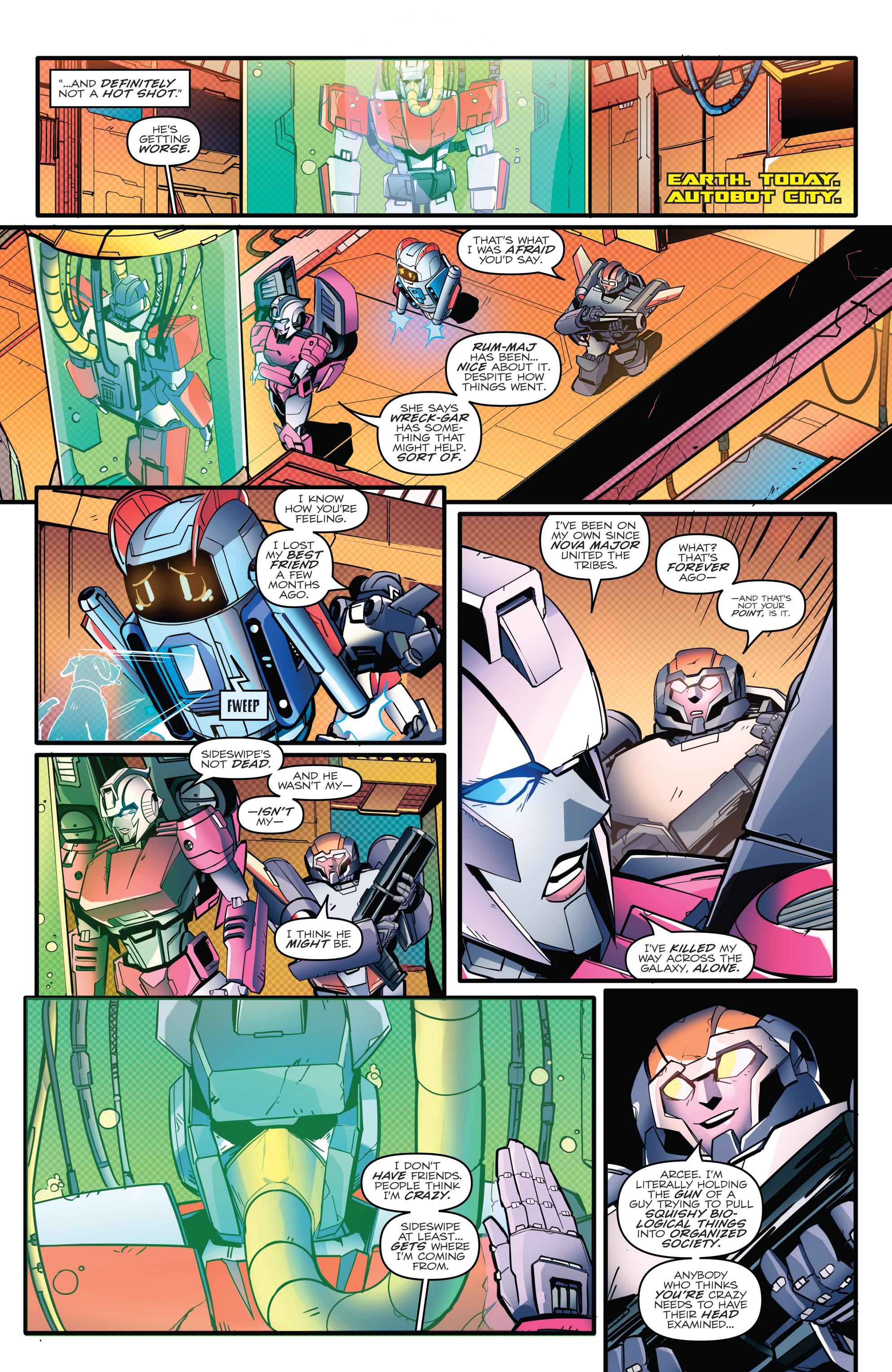 Read online Optimus Prime comic -  Issue #7 - 11