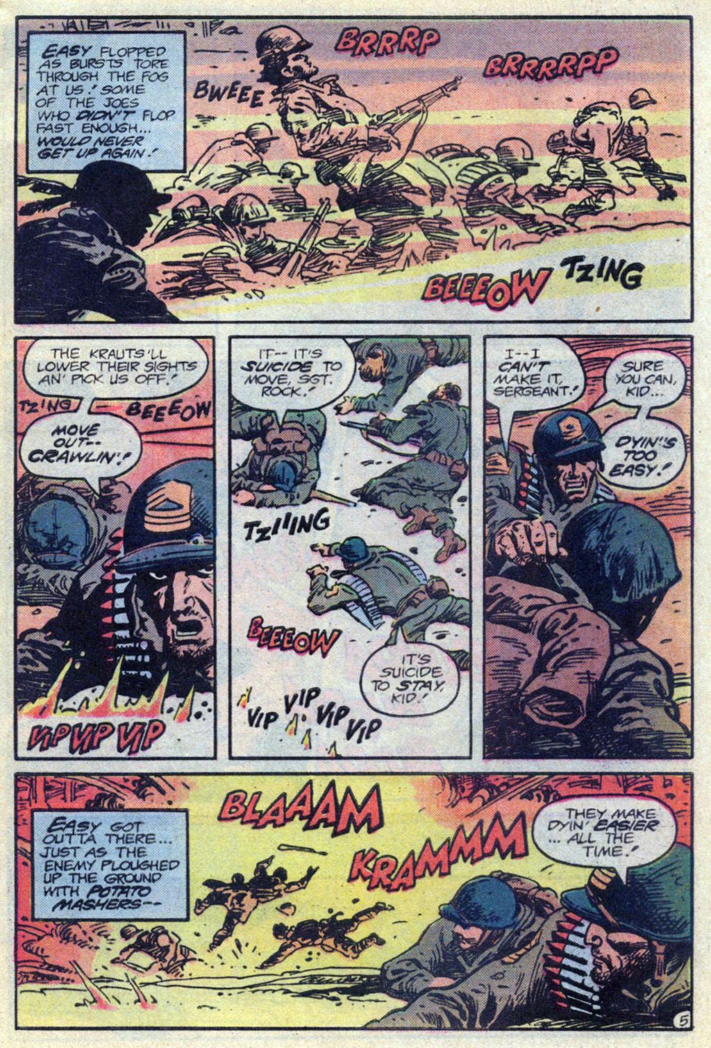 Read online Sgt. Rock comic -  Issue #369 - 5