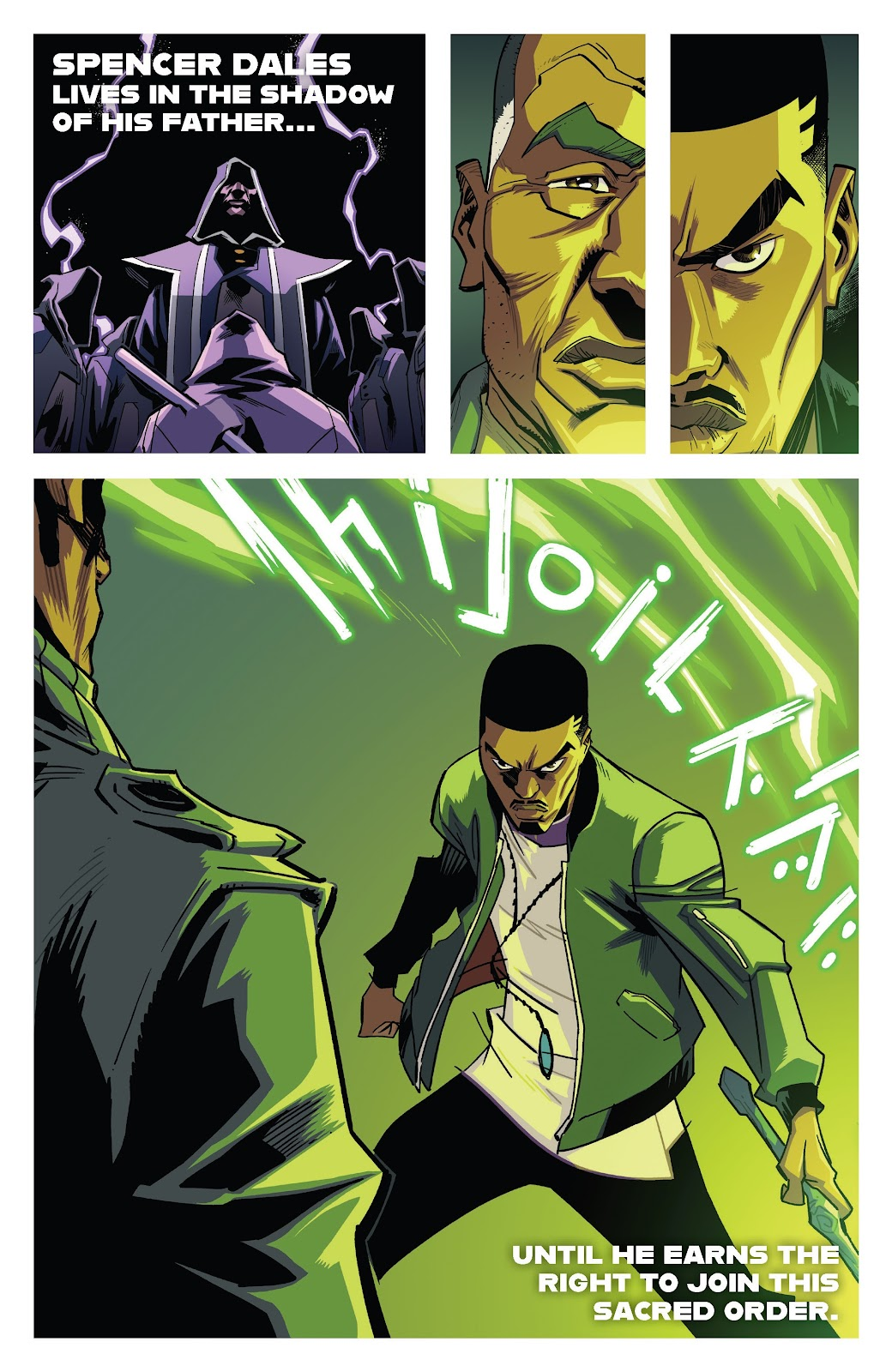 Read online Murder Falcon comic -  Issue #7 - 29