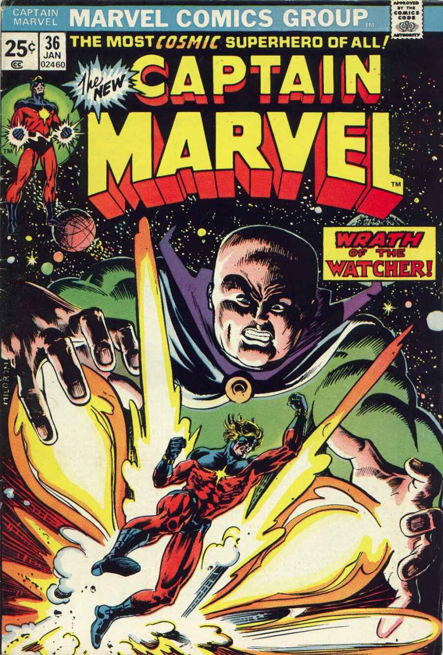 Captain Marvel (1968) 36 Page 1