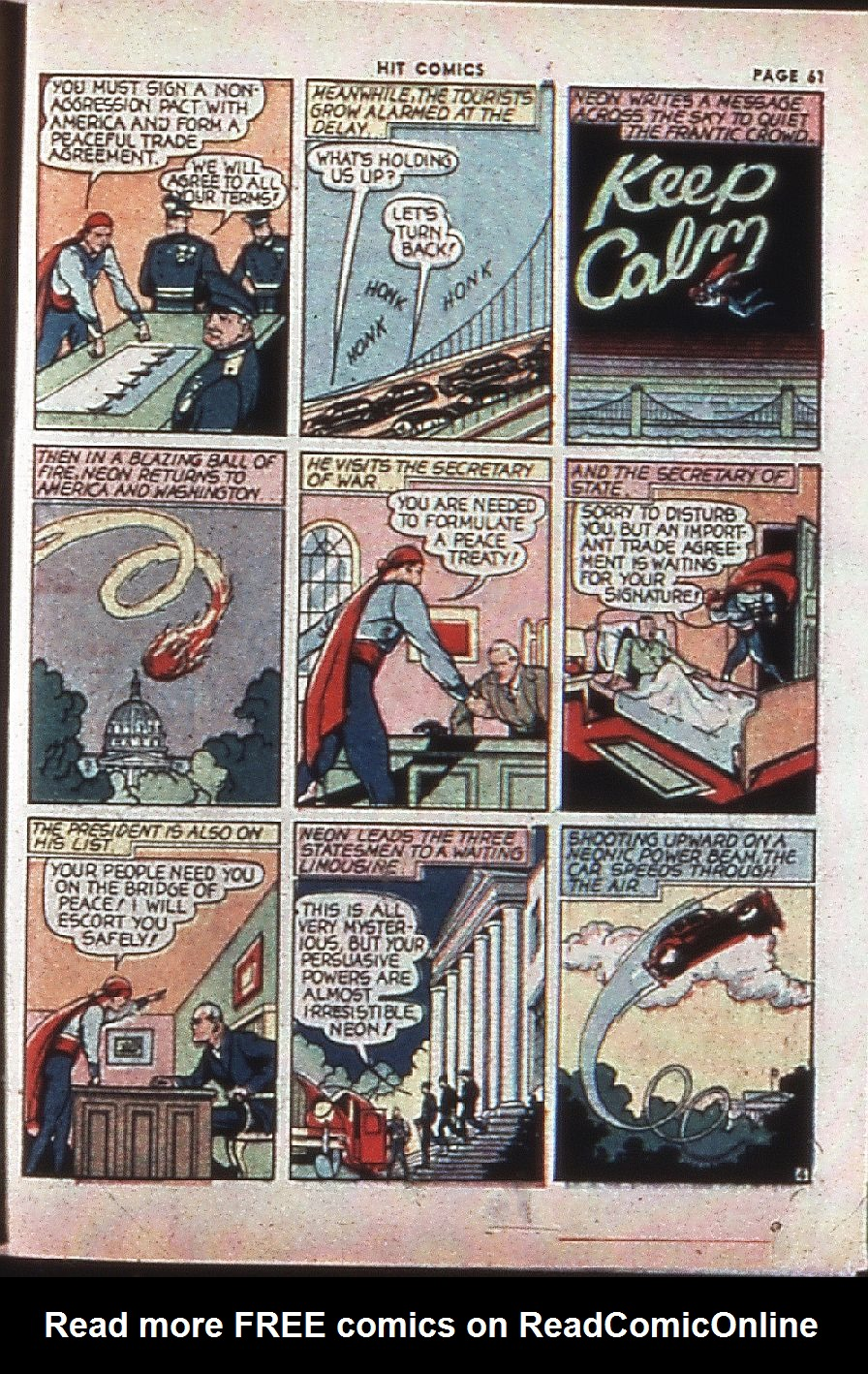 Read online Hit Comics comic -  Issue #4 - 63