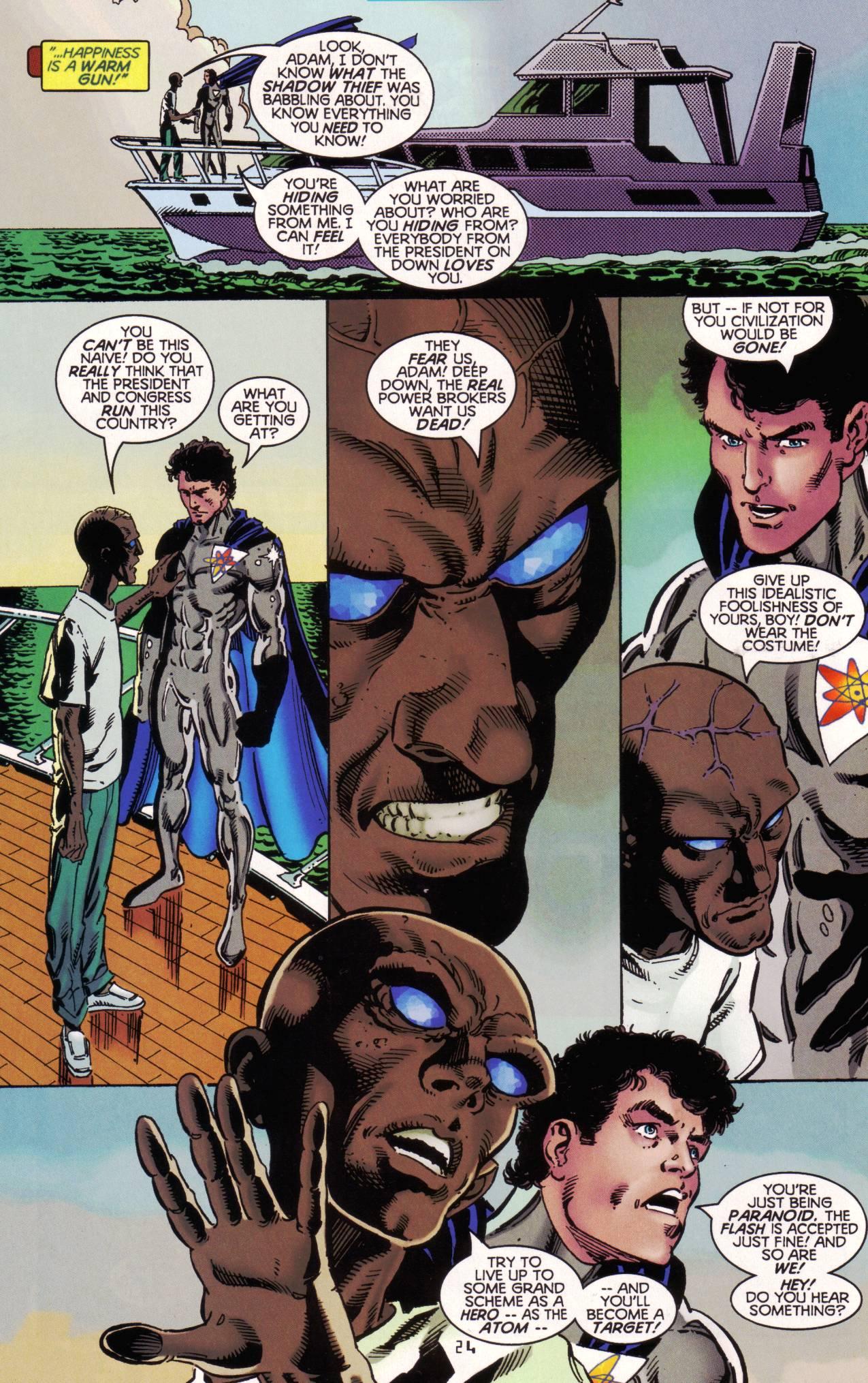 Read online Tangent Comics/ The Atom comic -  Issue # Full - 25