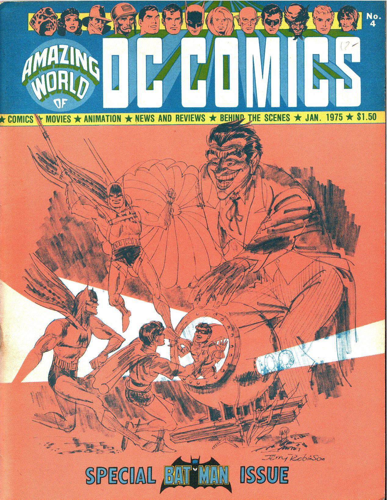 Read online Amazing World of DC Comics comic -  Issue #4 - 1
