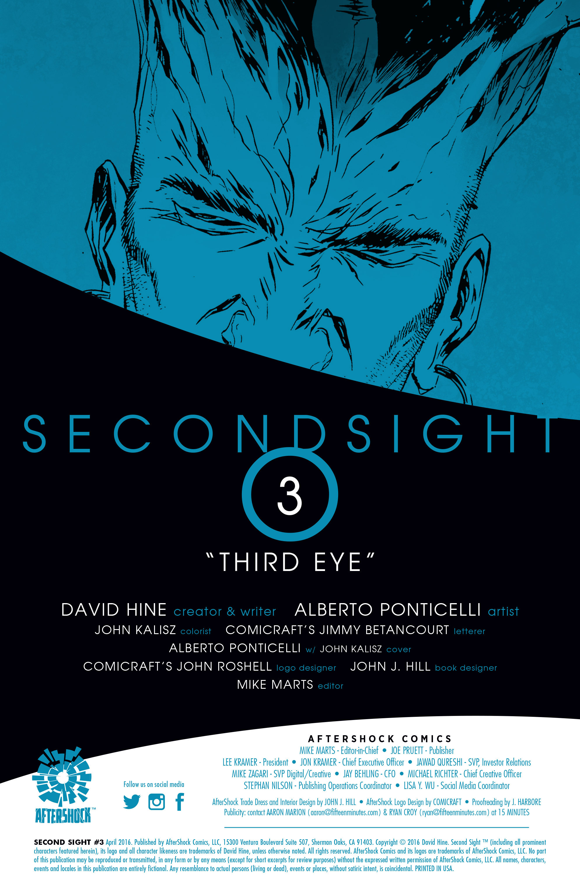Read online Second Sight comic -  Issue #3 - 2