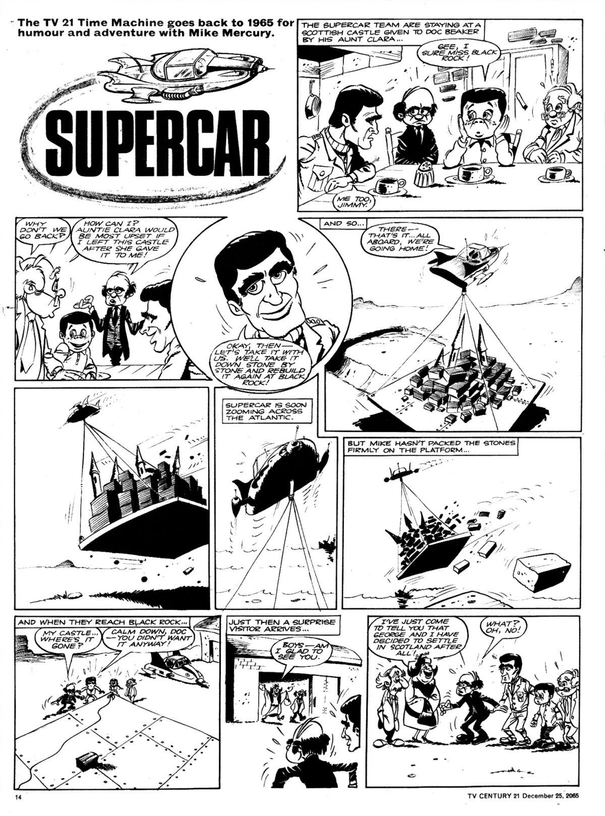 Read online TV Century 21 (TV 21) comic -  Issue #49 - 13
