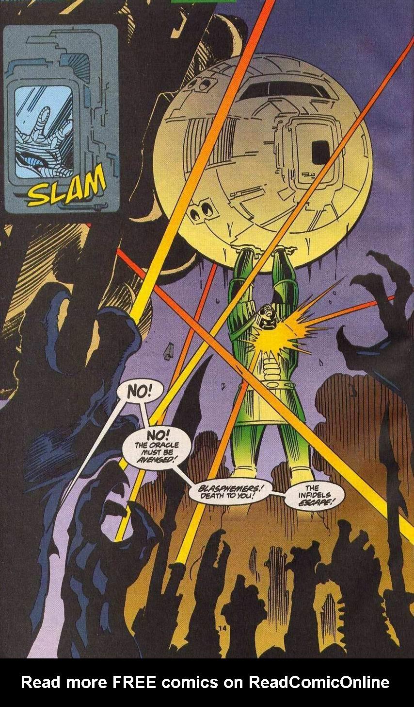 Read online Secret Defenders comic -  Issue #14 - 12
