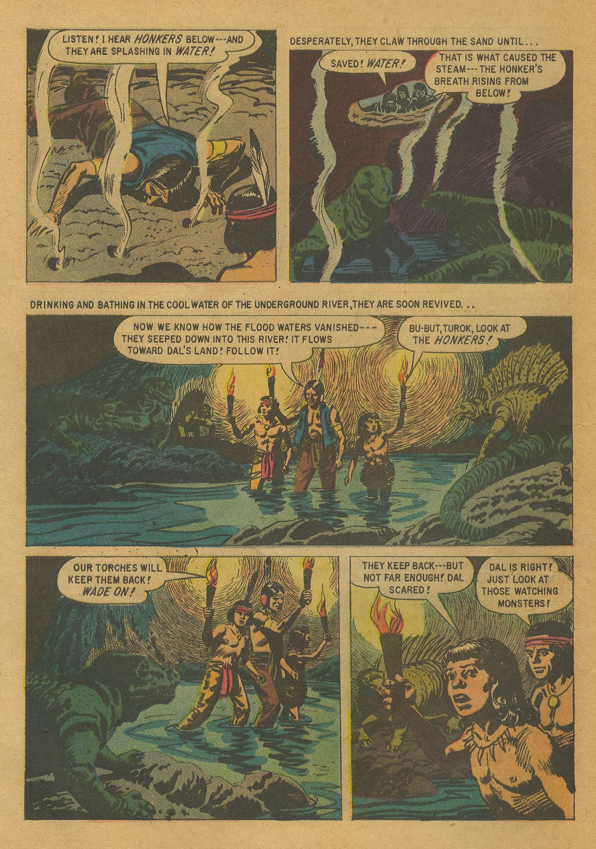 Read online Turok, Son of Stone comic -  Issue #17 - 32