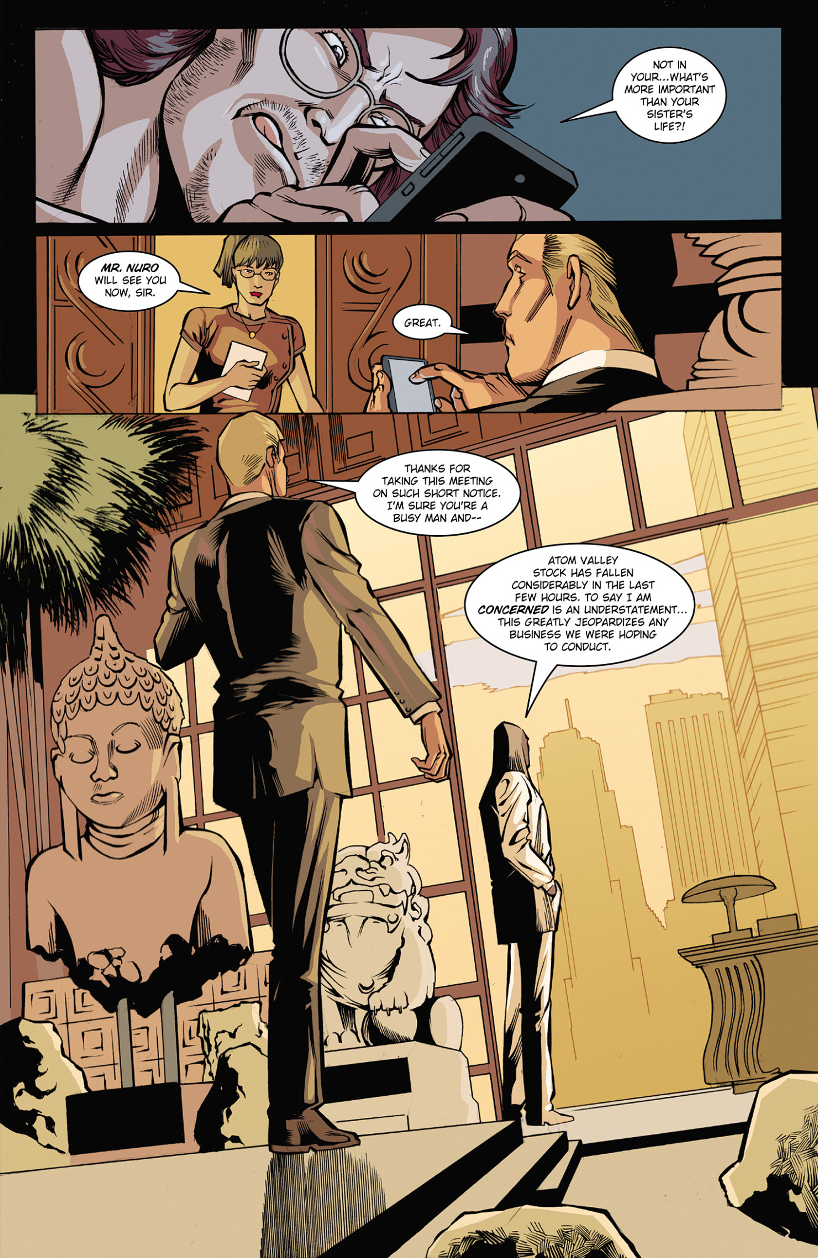Read online Solar: Man of the Atom (2014) comic -  Issue #3 - 13
