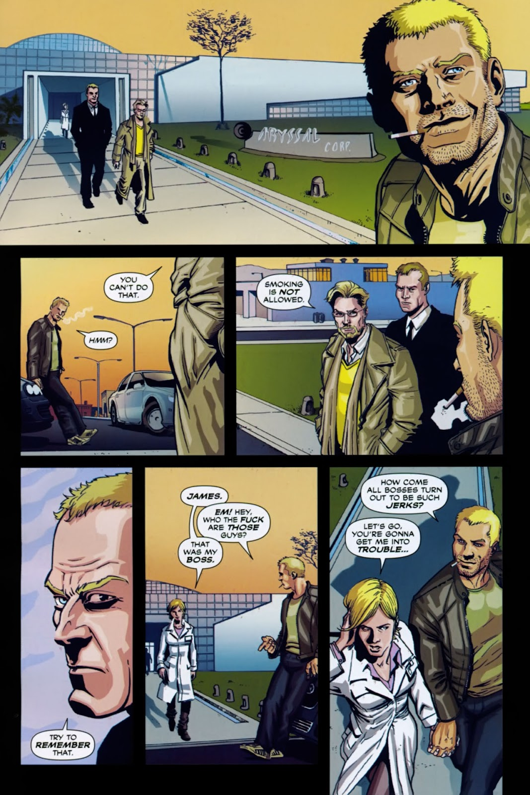 Read online Lazarus (2007) comic -  Issue #1 - 3