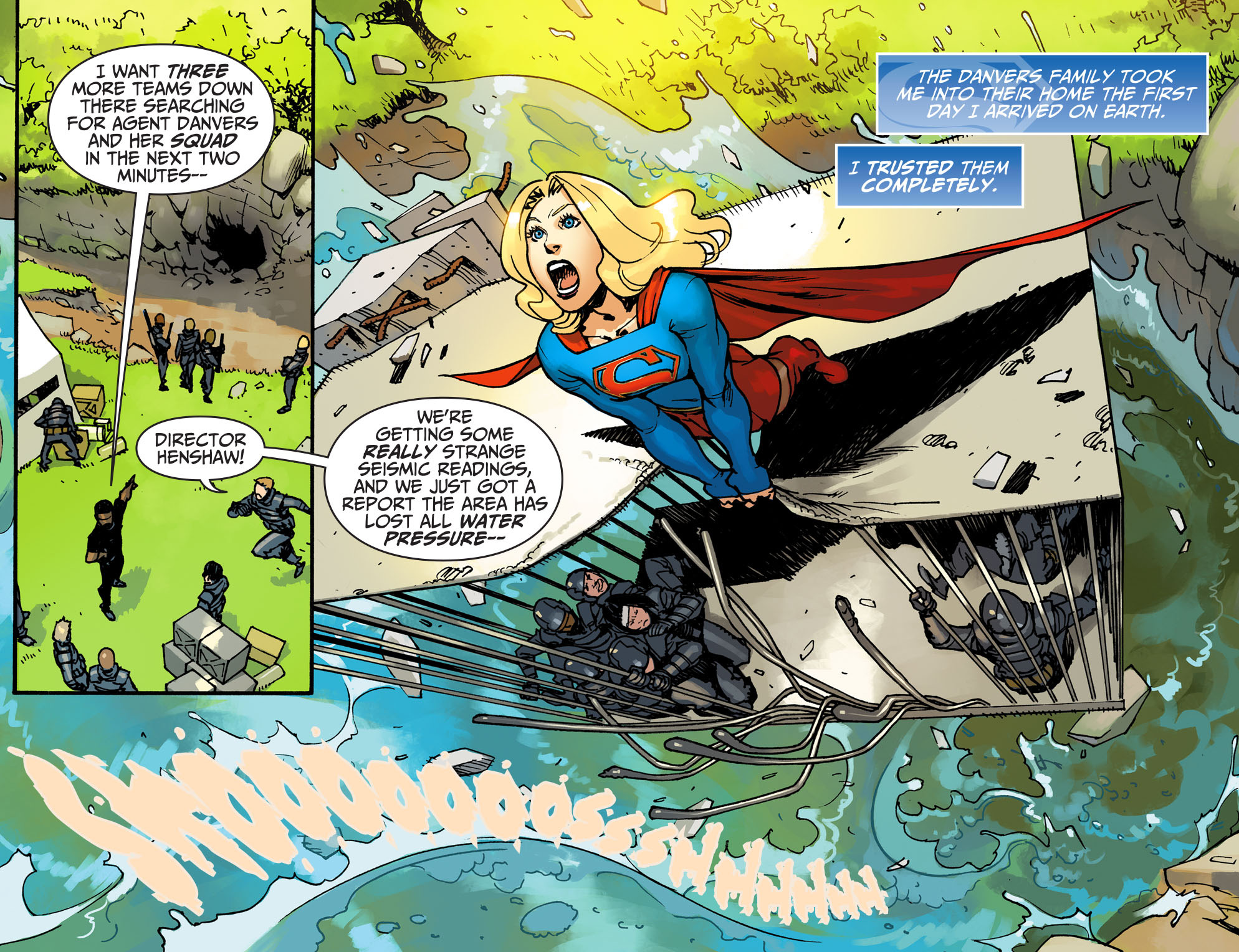 Read online Adventures of Supergirl comic -  Issue #3 - 21