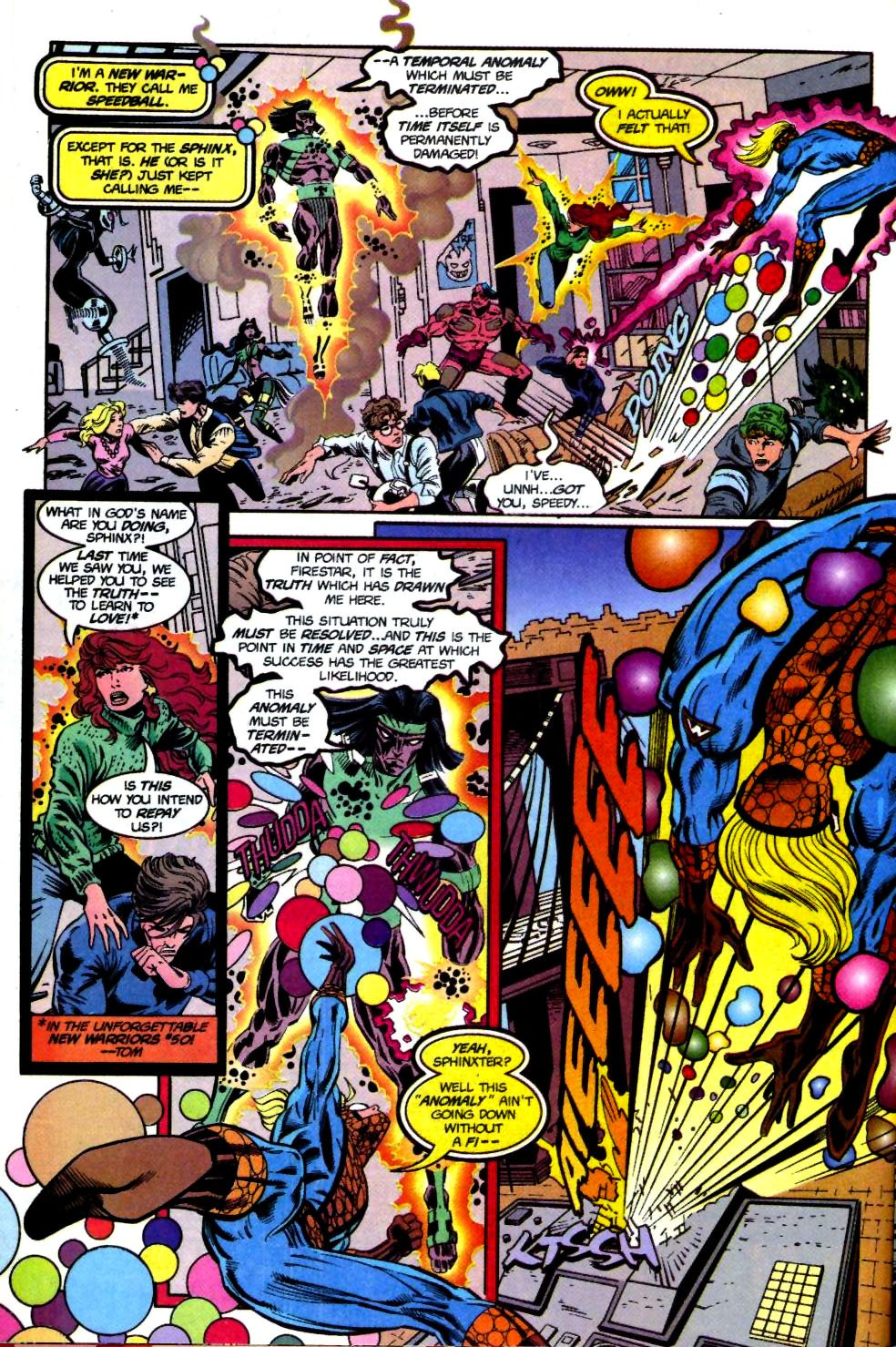 The New Warriors Issue #69 #73 - English 6